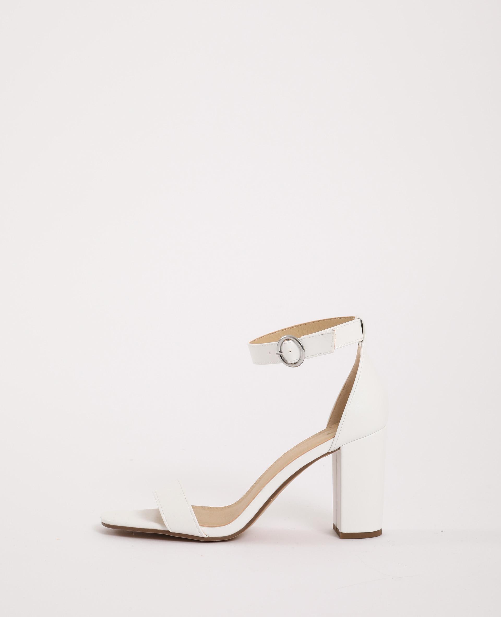 Sandales à talons hauts écru - Pimkie