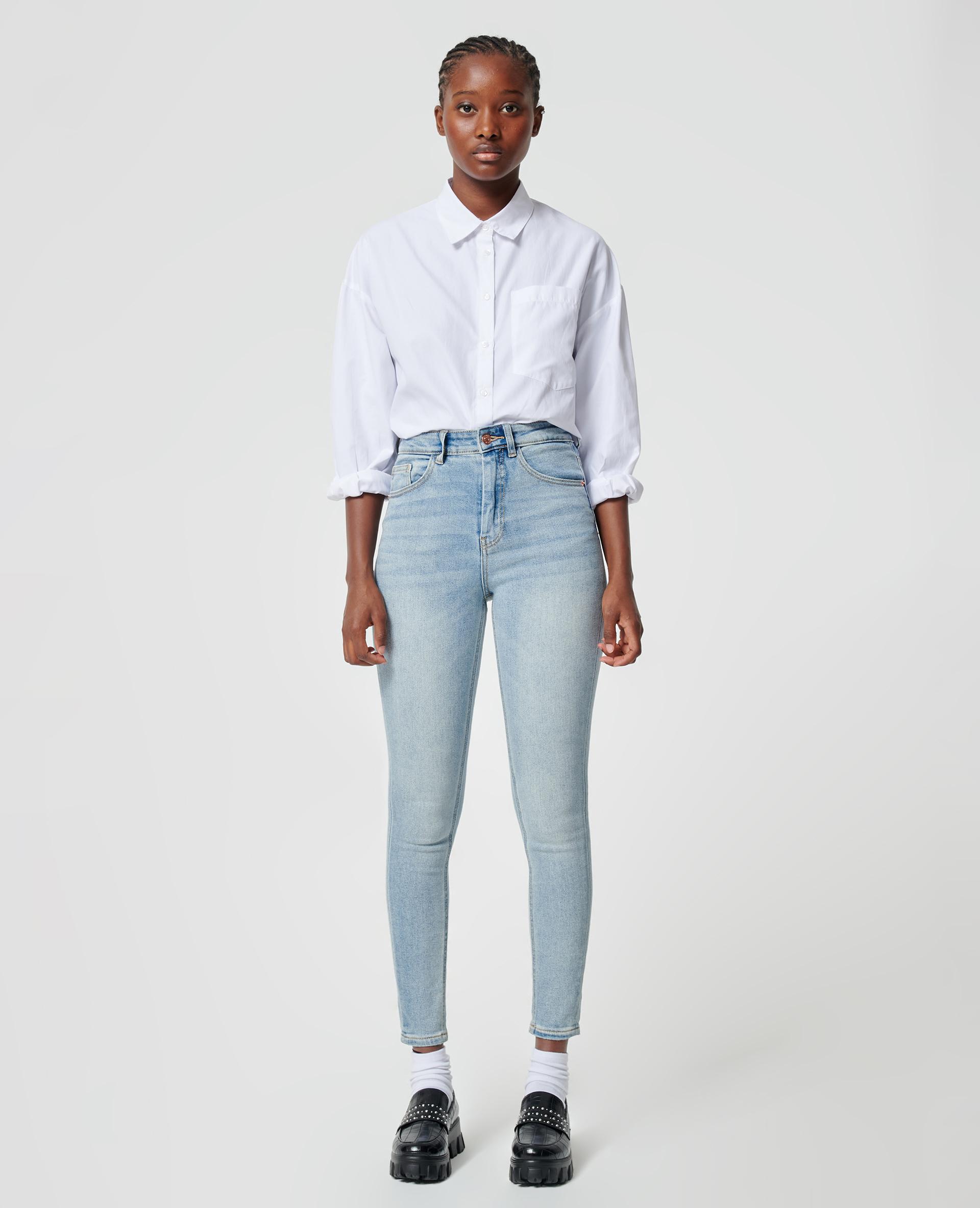 Jean skinny bleu clair - Pimkie