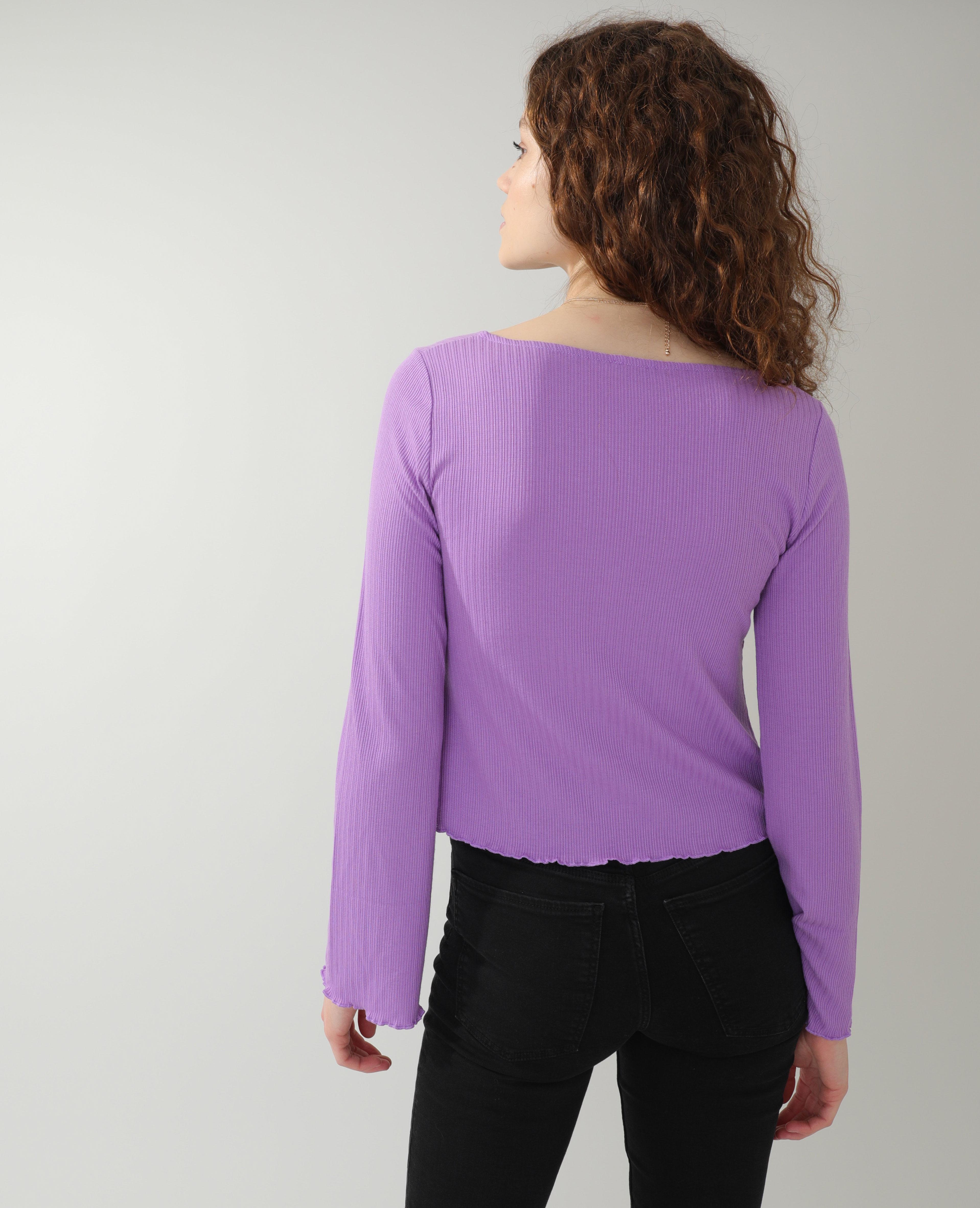T-shirt violet - Pimkie