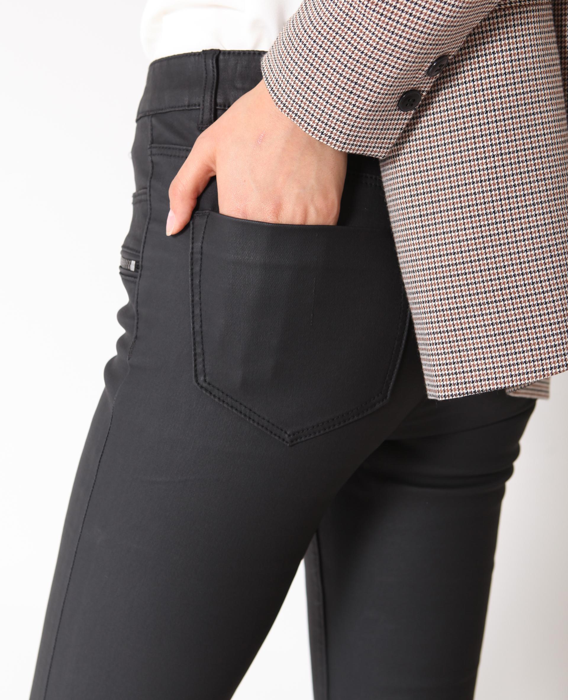 Skinny enduit noir - Pimkie