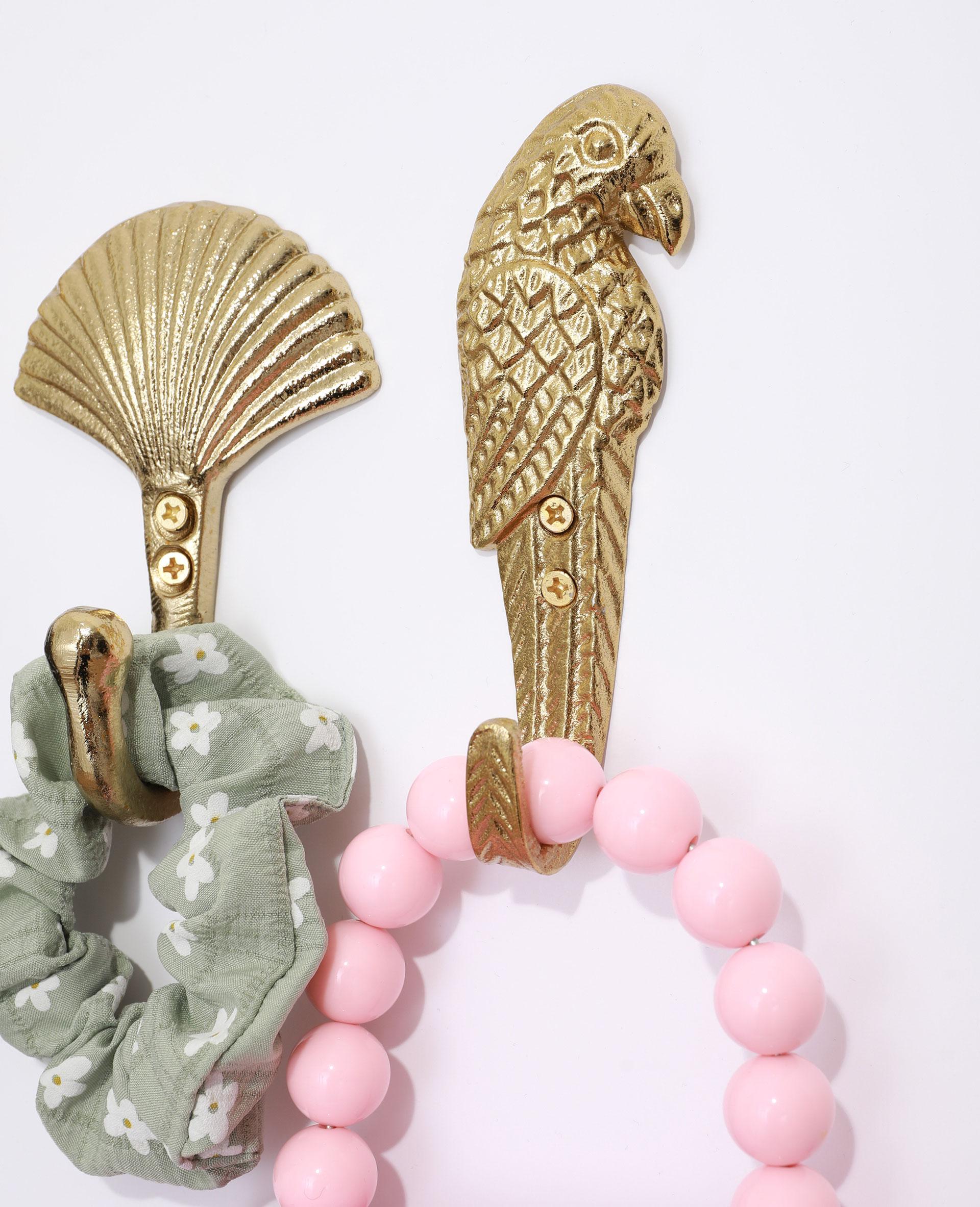 Patère perroquet doré - Pimkie