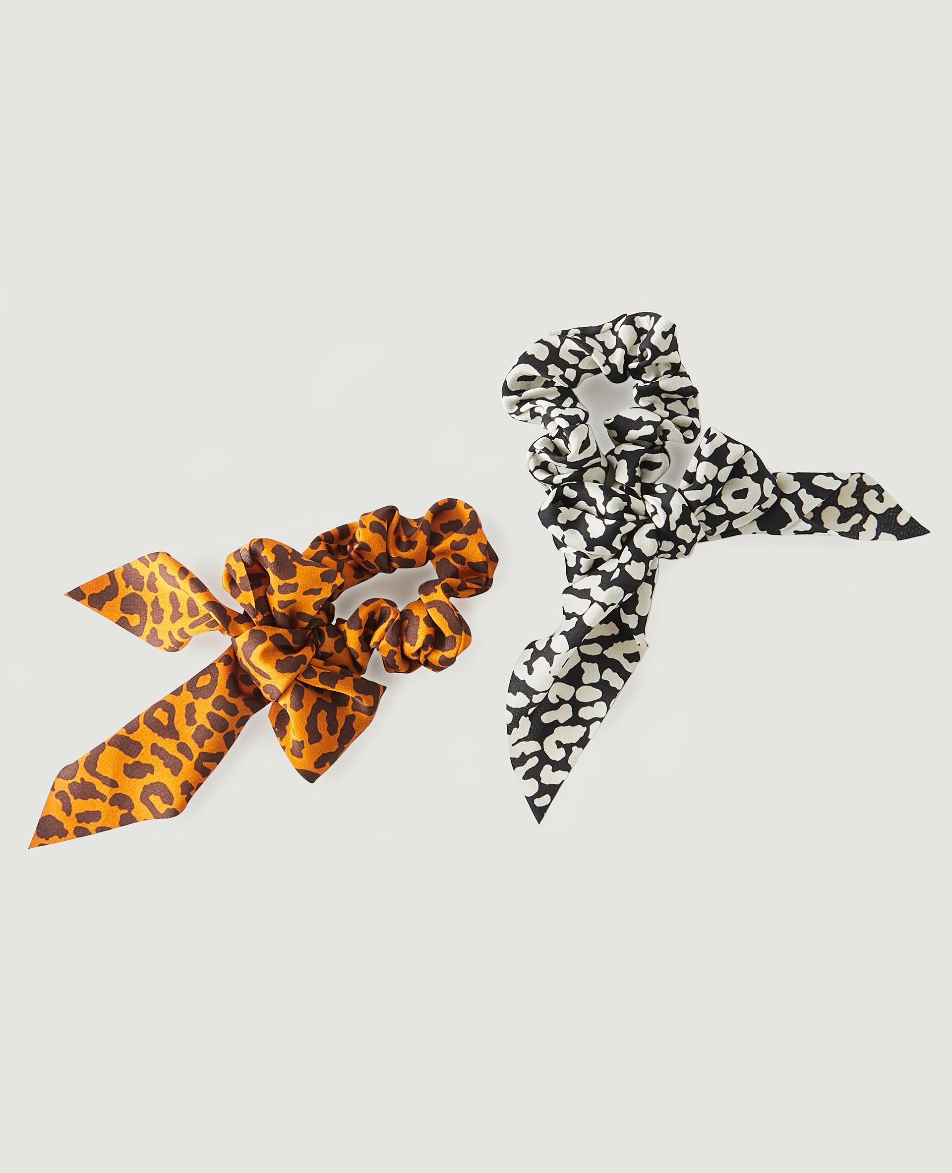 Lot de 2 chouchous léopard noir - Pimkie