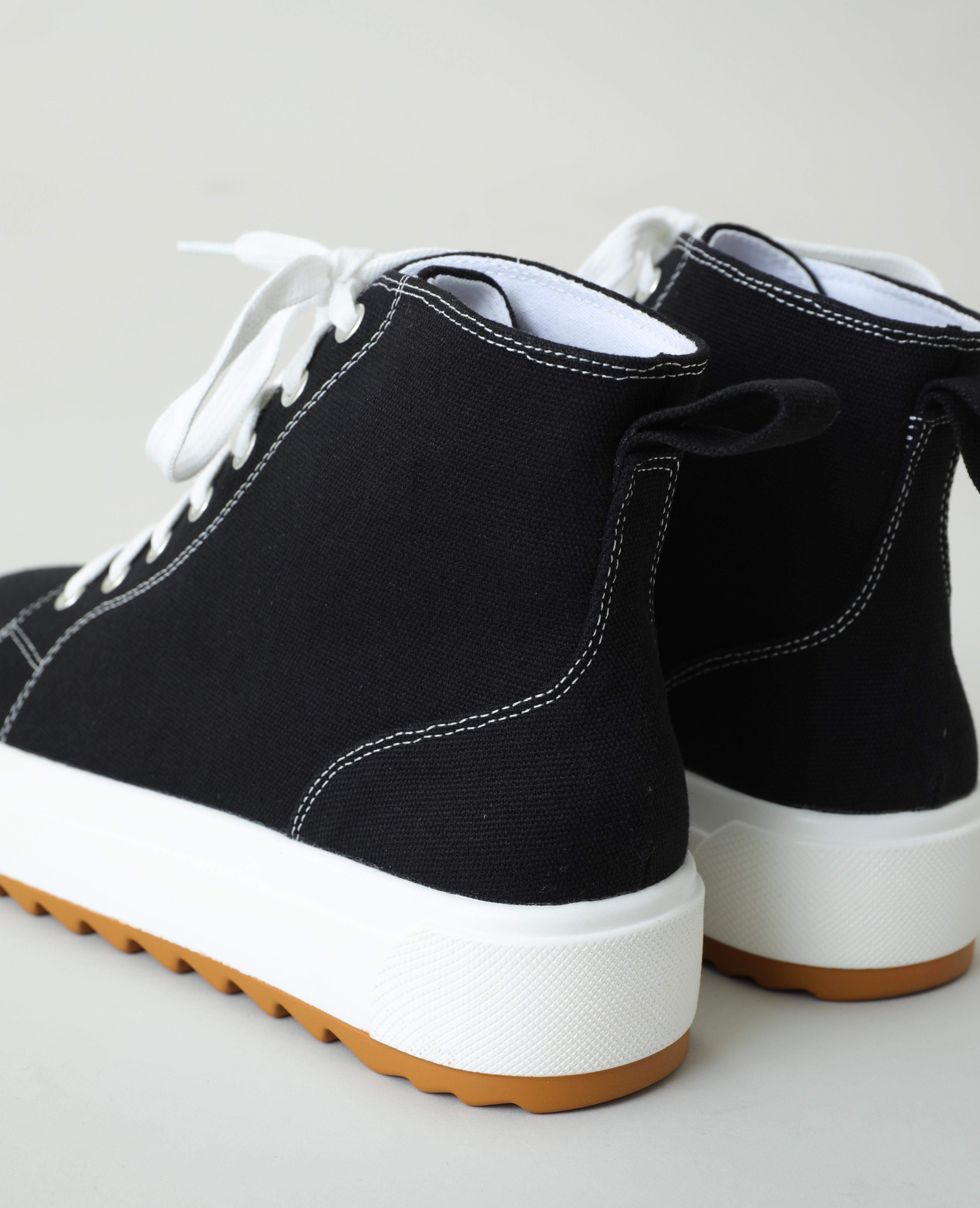 Baskets hautes plateformes noir - Pimkie