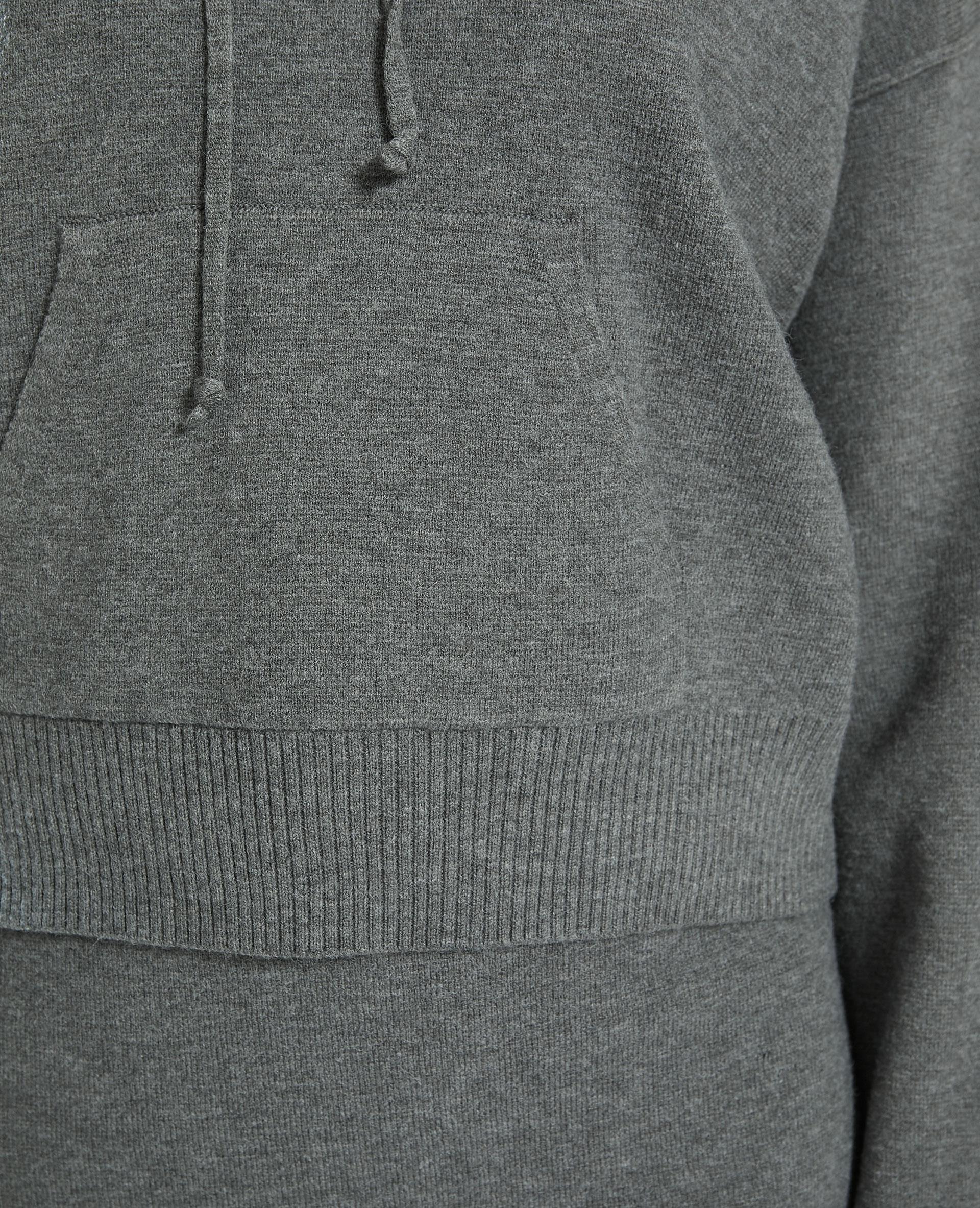 Sweat à capuche gris - Pimkie