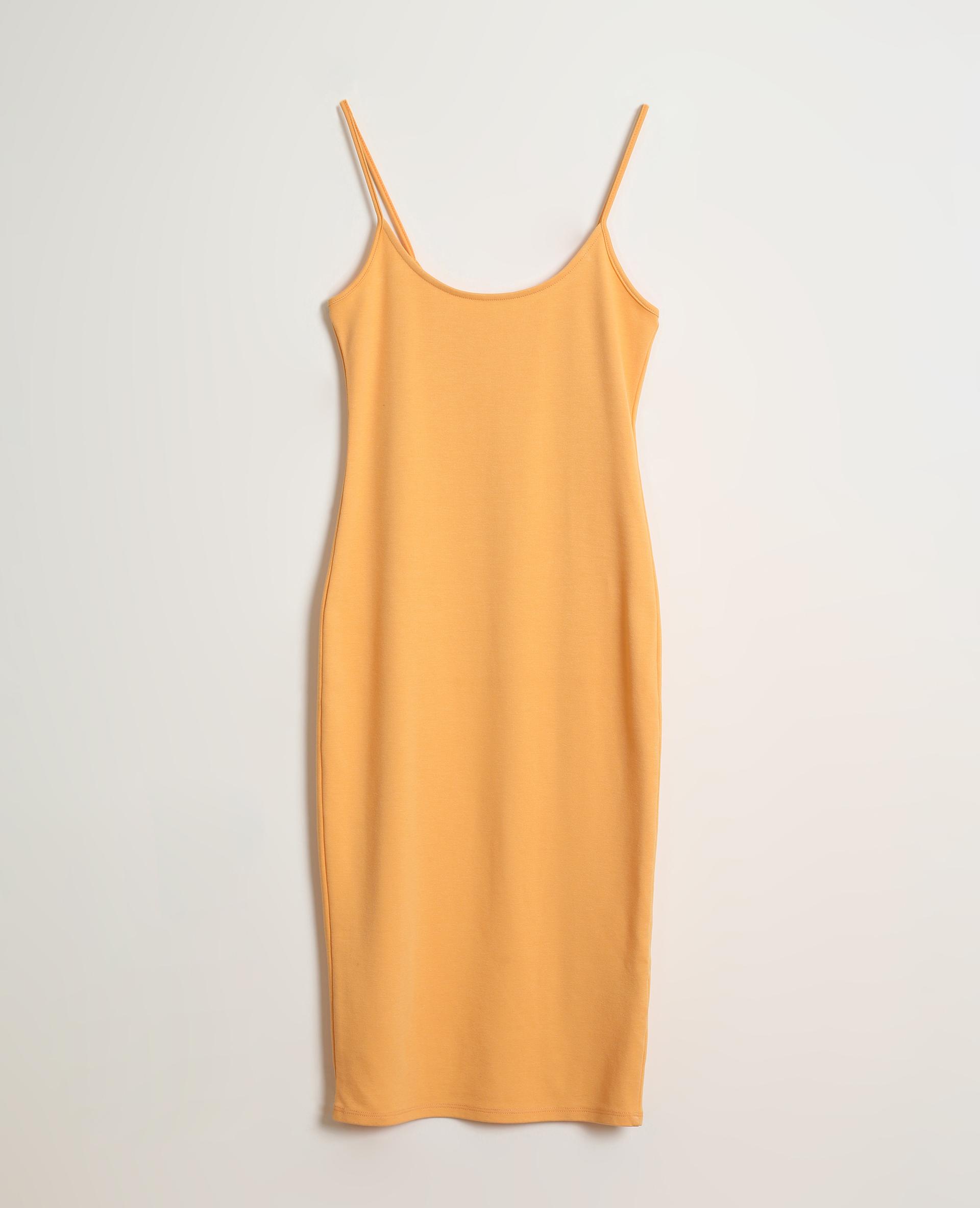 Robe moulante orange - Pimkie