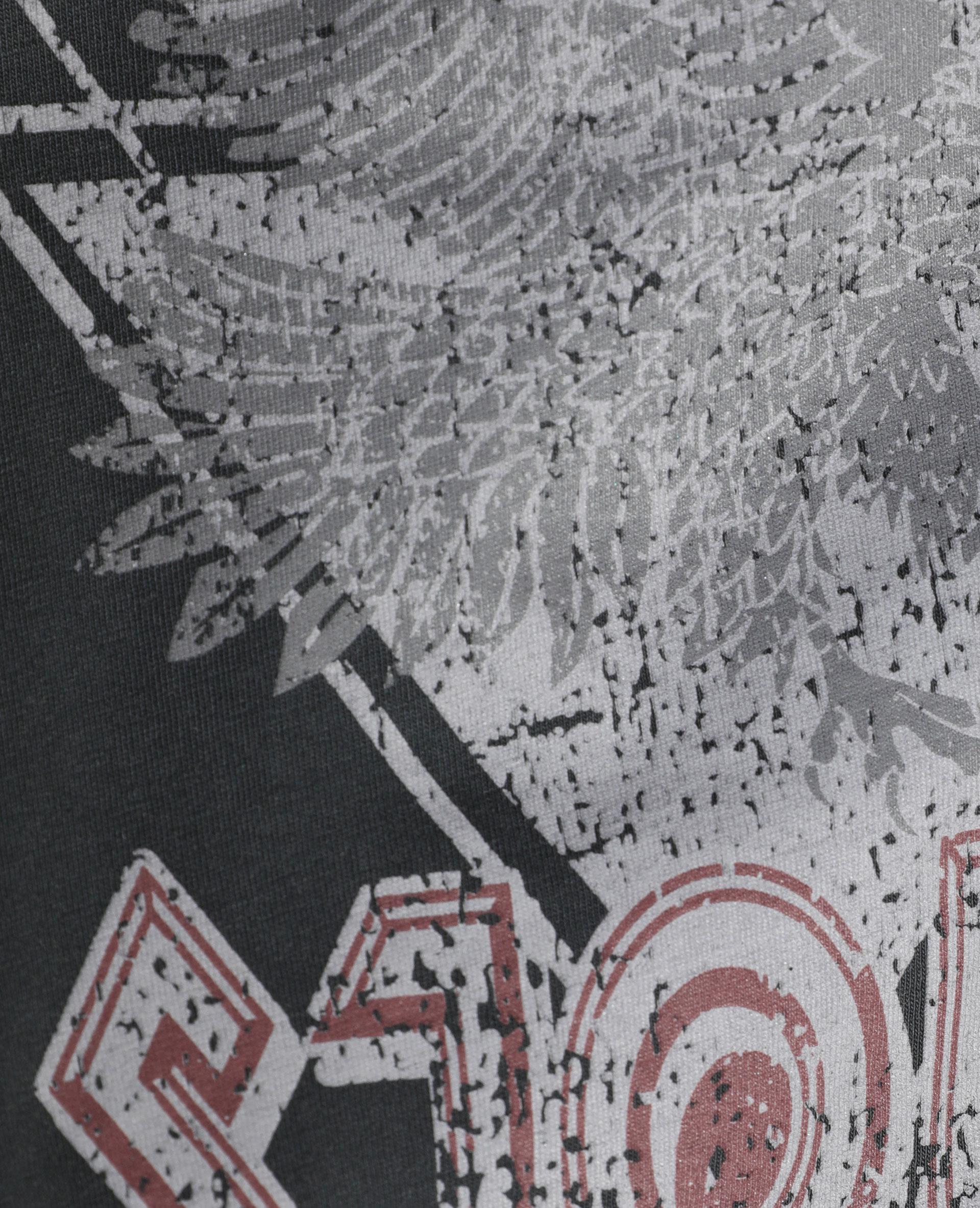 T-shirt à épaulettes bordeaux - Pimkie