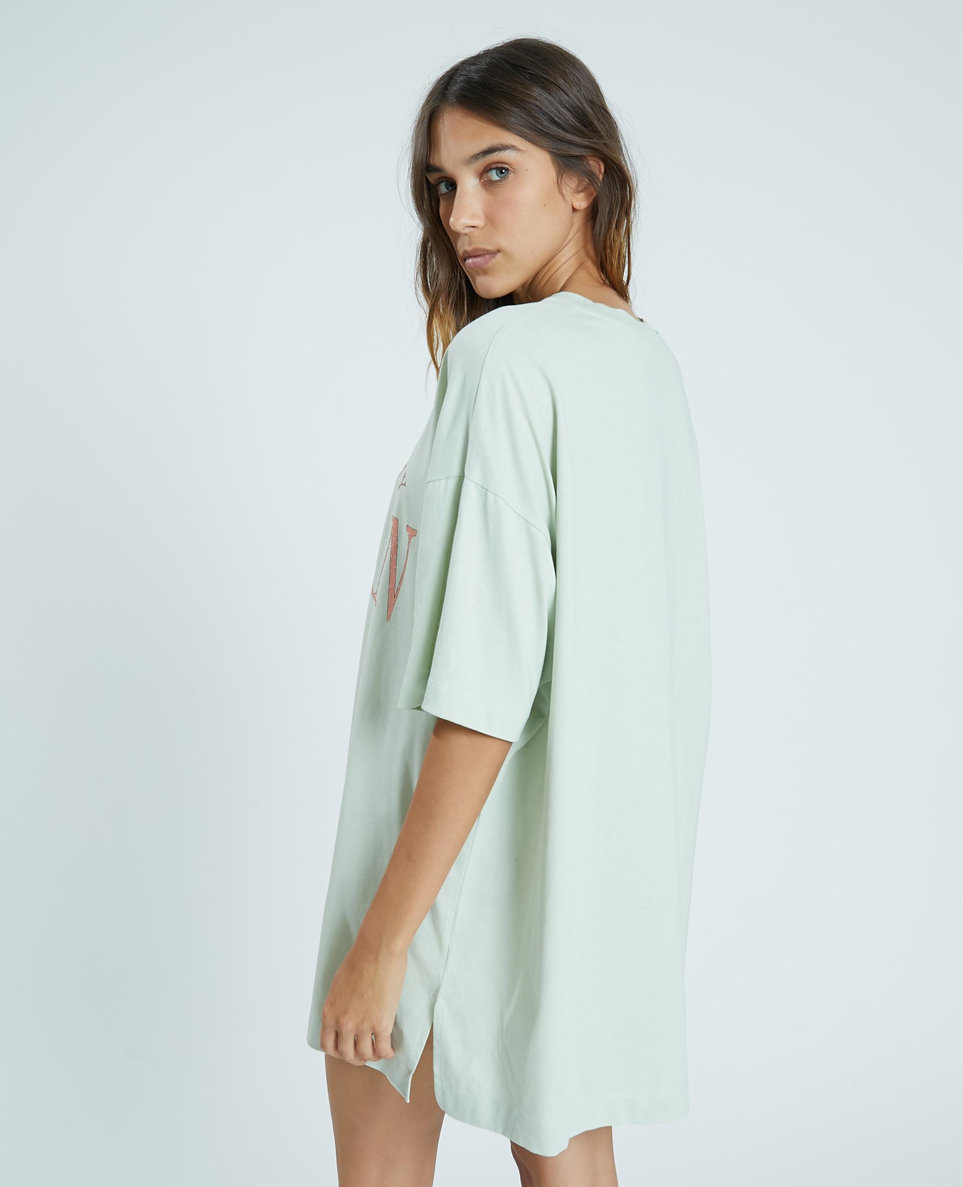 Tee-shirt oversize vert - Pimkie