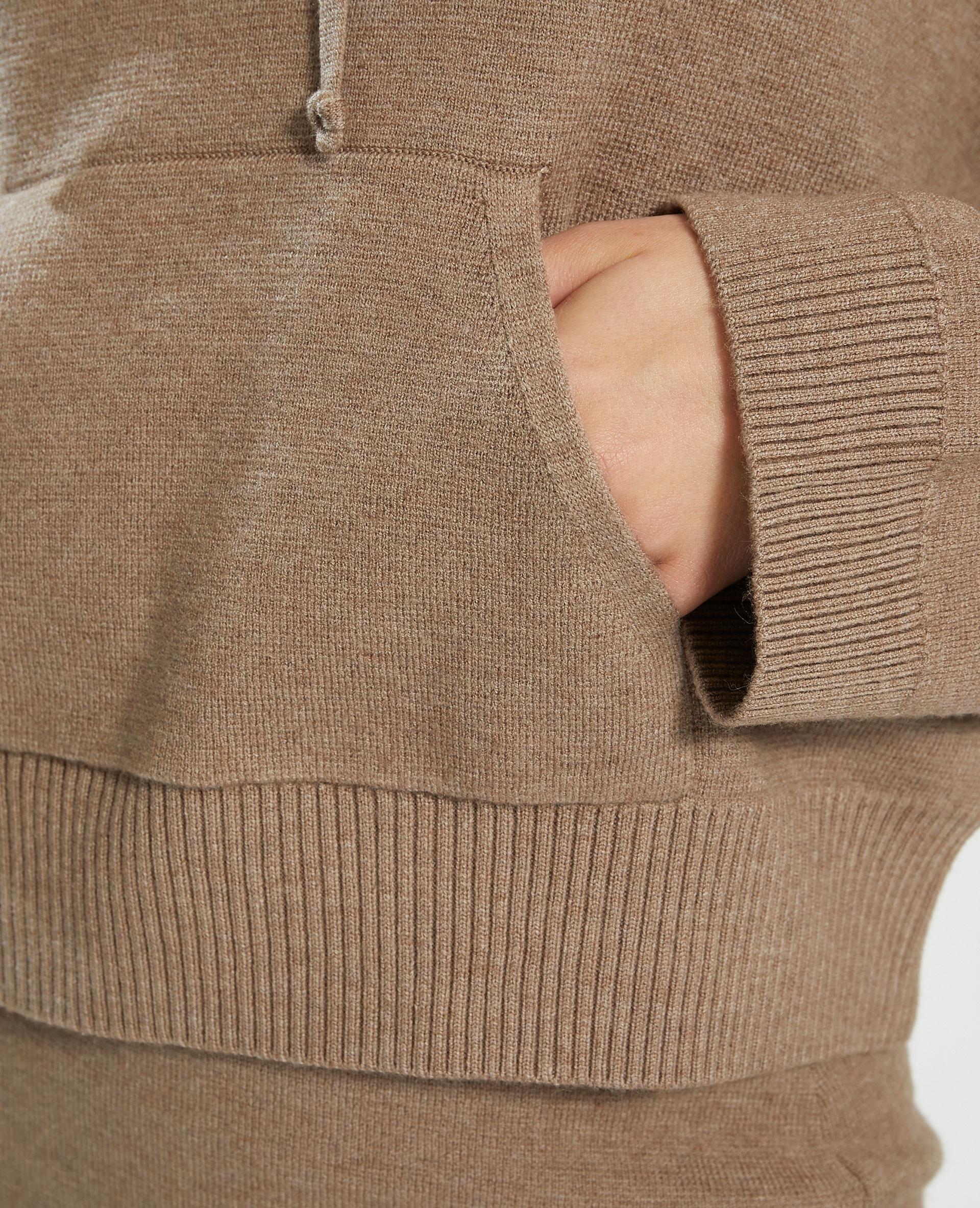 Sweat à capuche marron - Pimkie