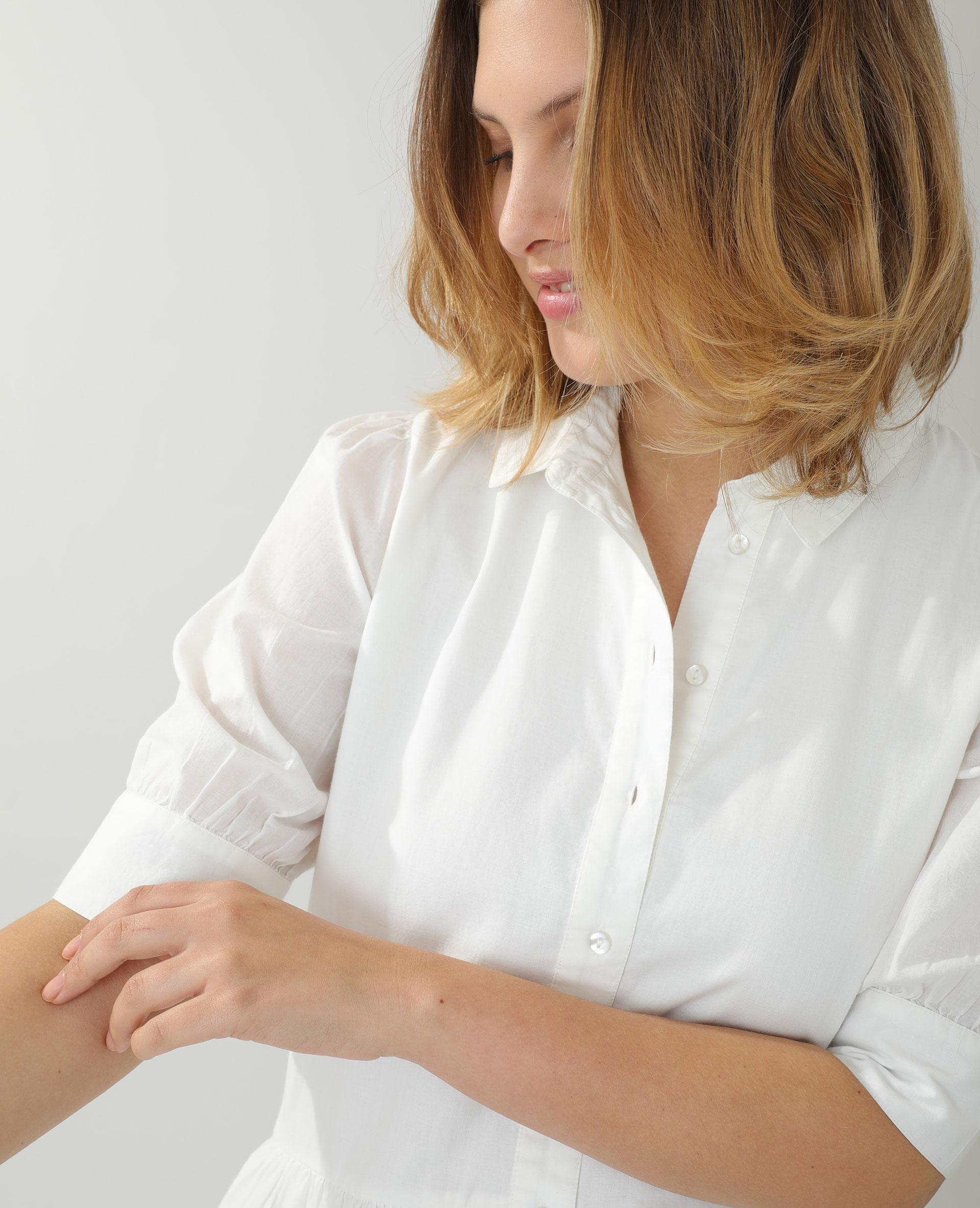 Robe chemise écru - Pimkie