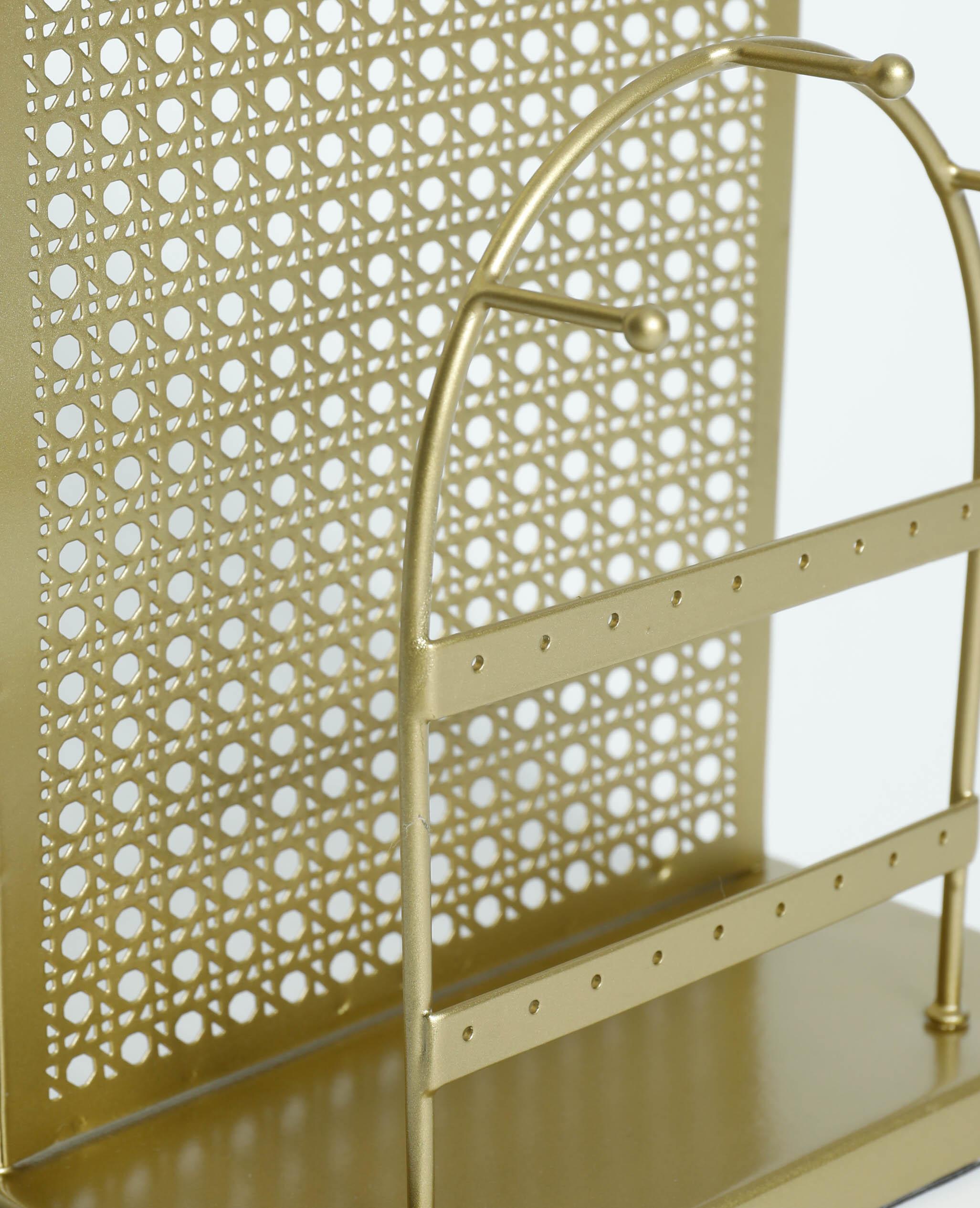 Porte-bijoux métallique doré - Pimkie