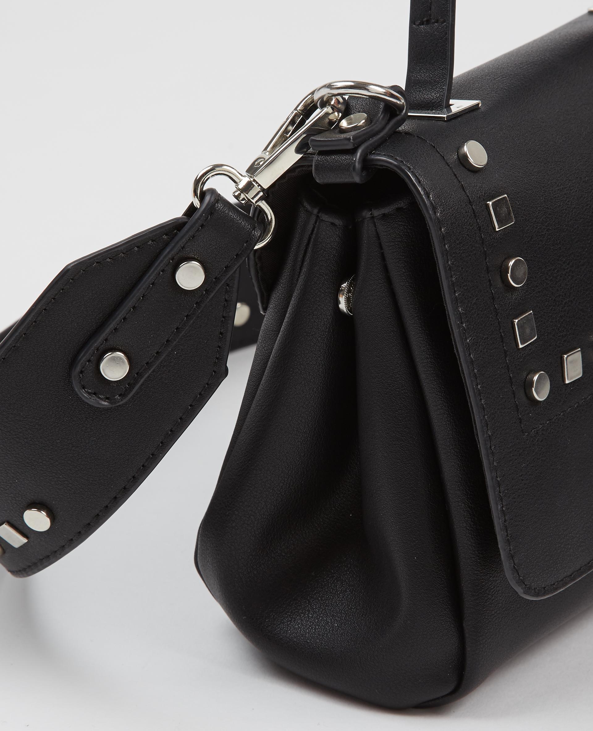 Petit sac clouté noir - Pimkie