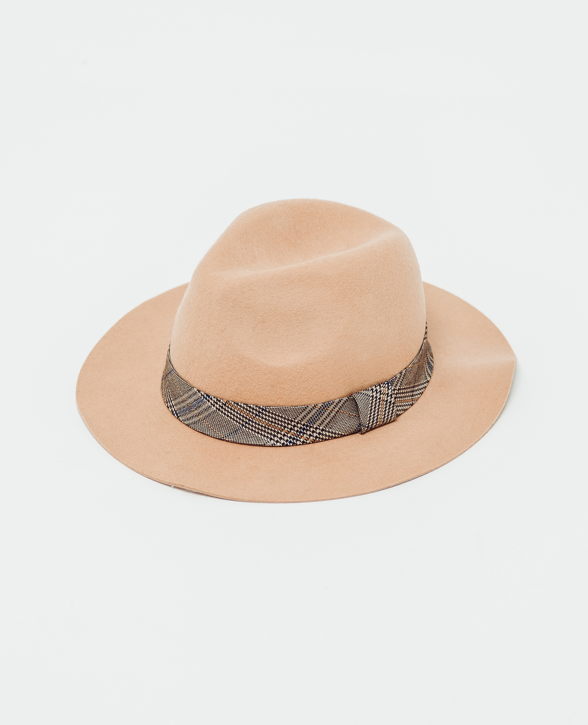 Chapeau en feutrine camel - Pimkie