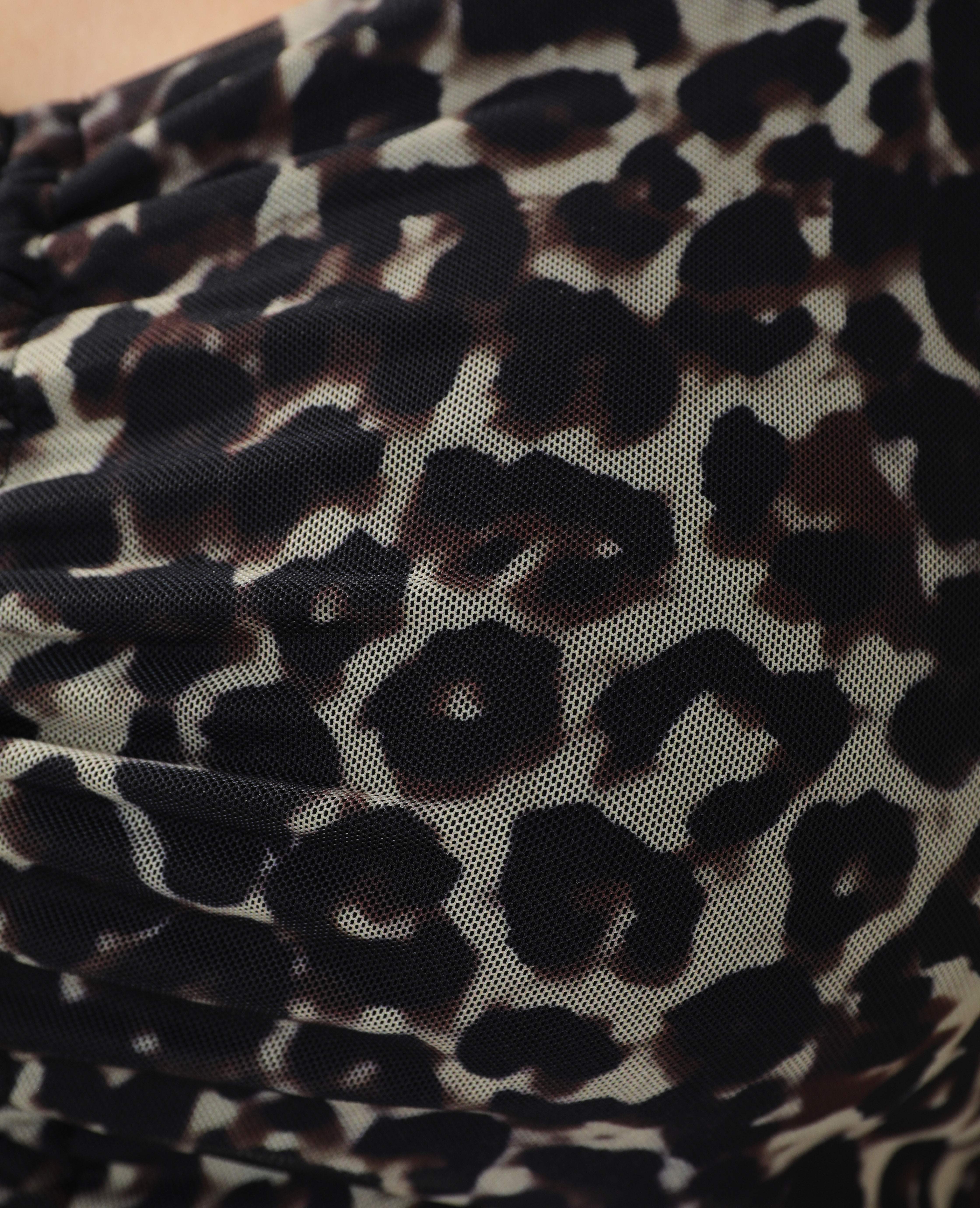 Top court léopard beige ficelle - Pimkie