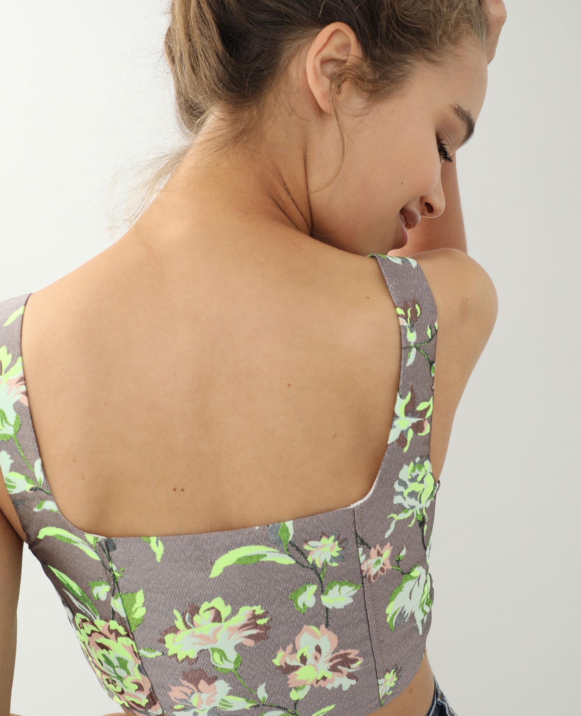 Brassière corset noir - Pimkie