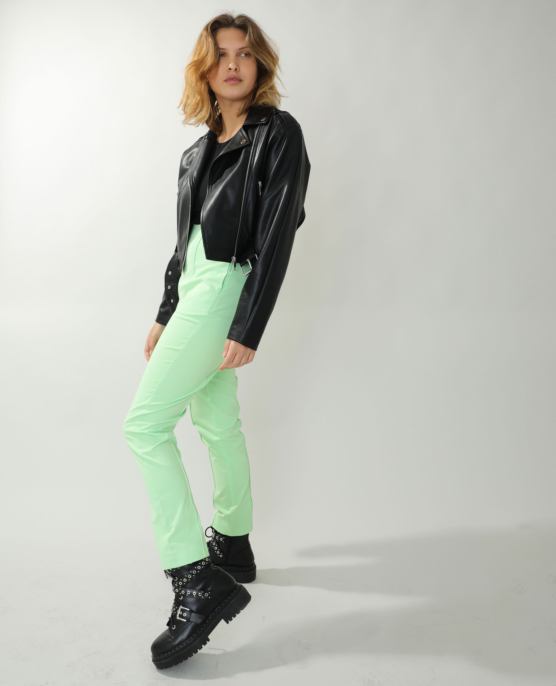 Pantalon city vert - Pimkie