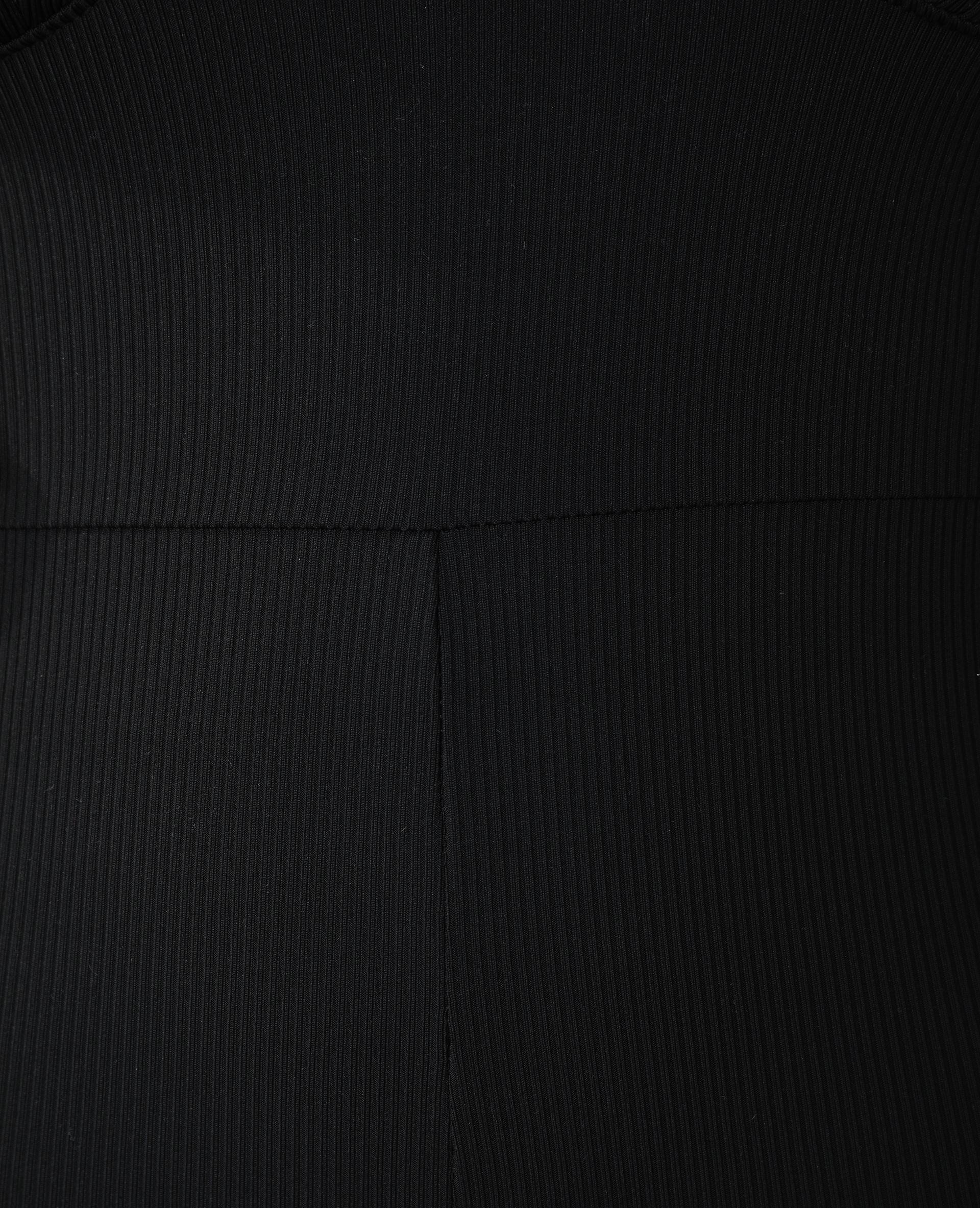Combishort côtelé noir - Pimkie