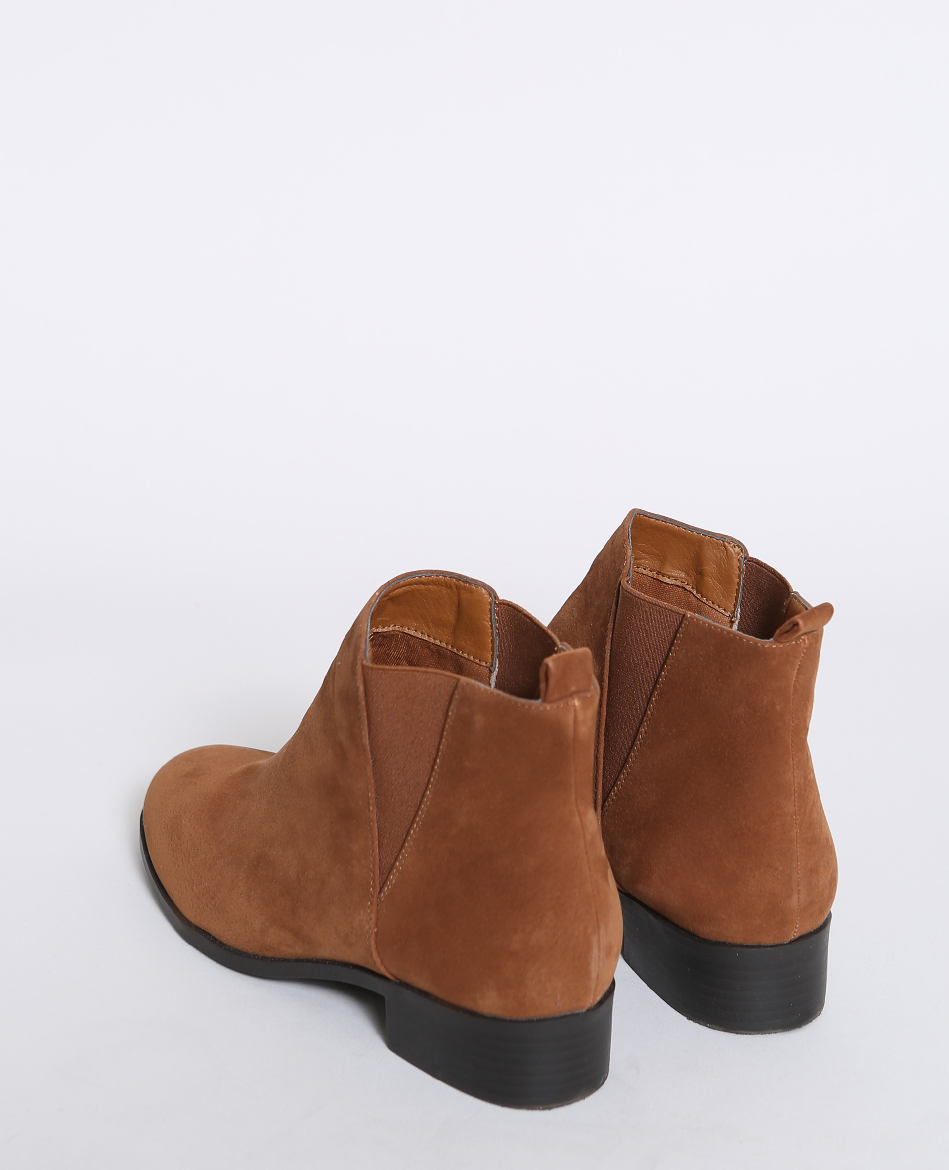 Boots chelsea marron - Pimkie