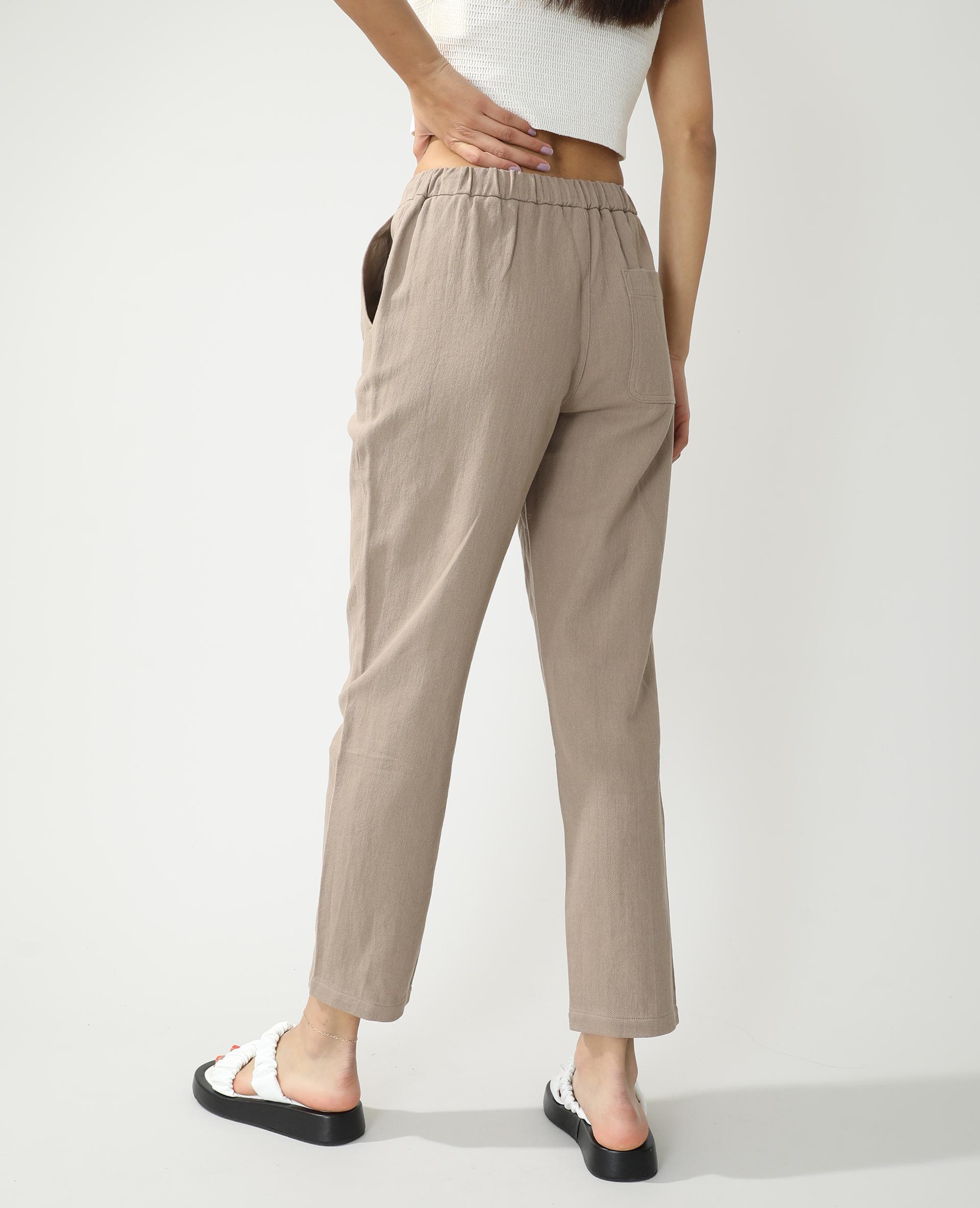 Pantalon jogging droit marron - Pimkie