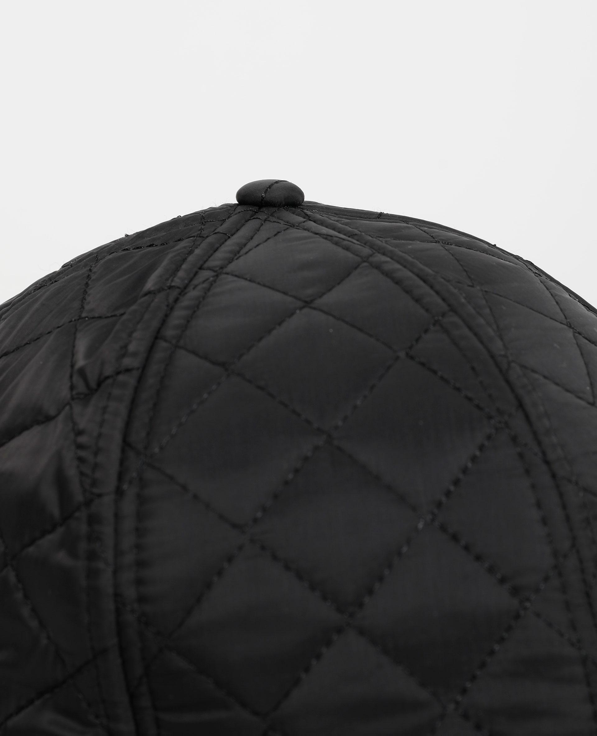 Casquette matelassée noir - Pimkie