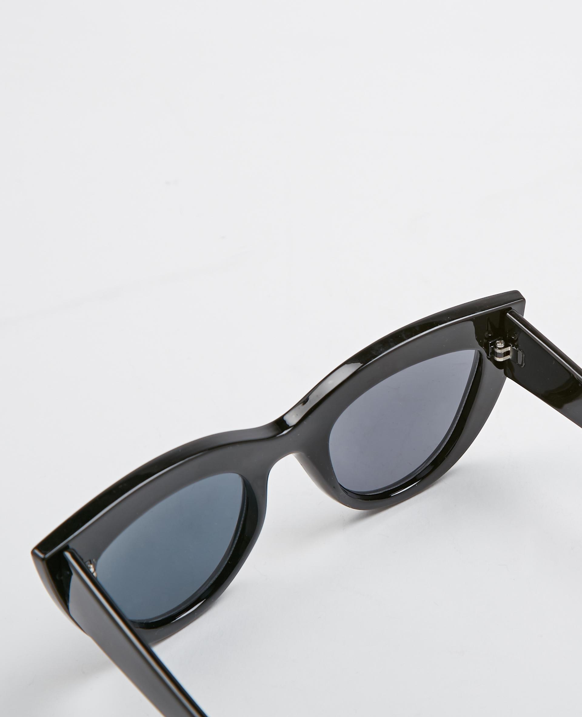 Lunettes de soleil cat eye noir - Pimkie