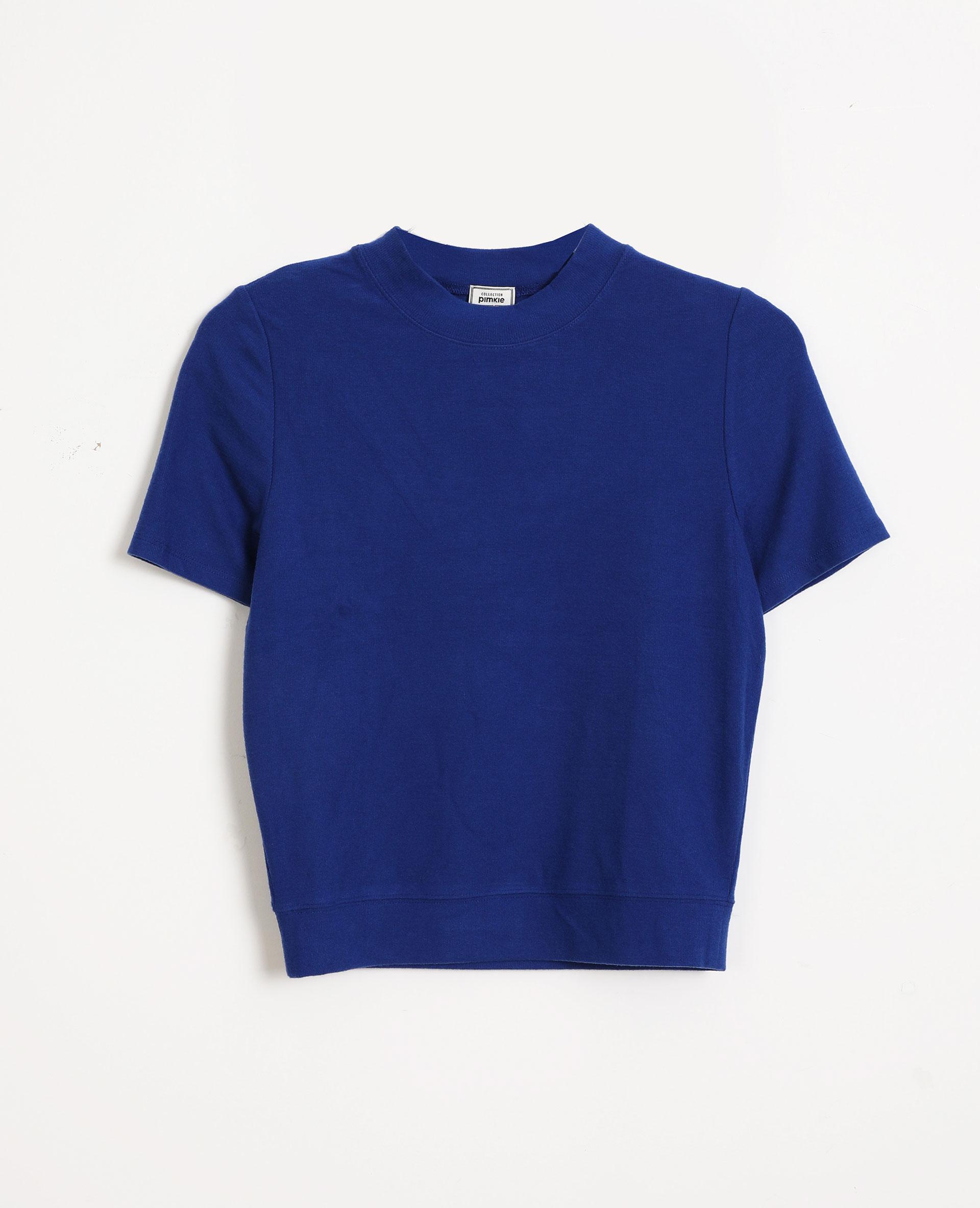 Top manches courtes bleu - Pimkie