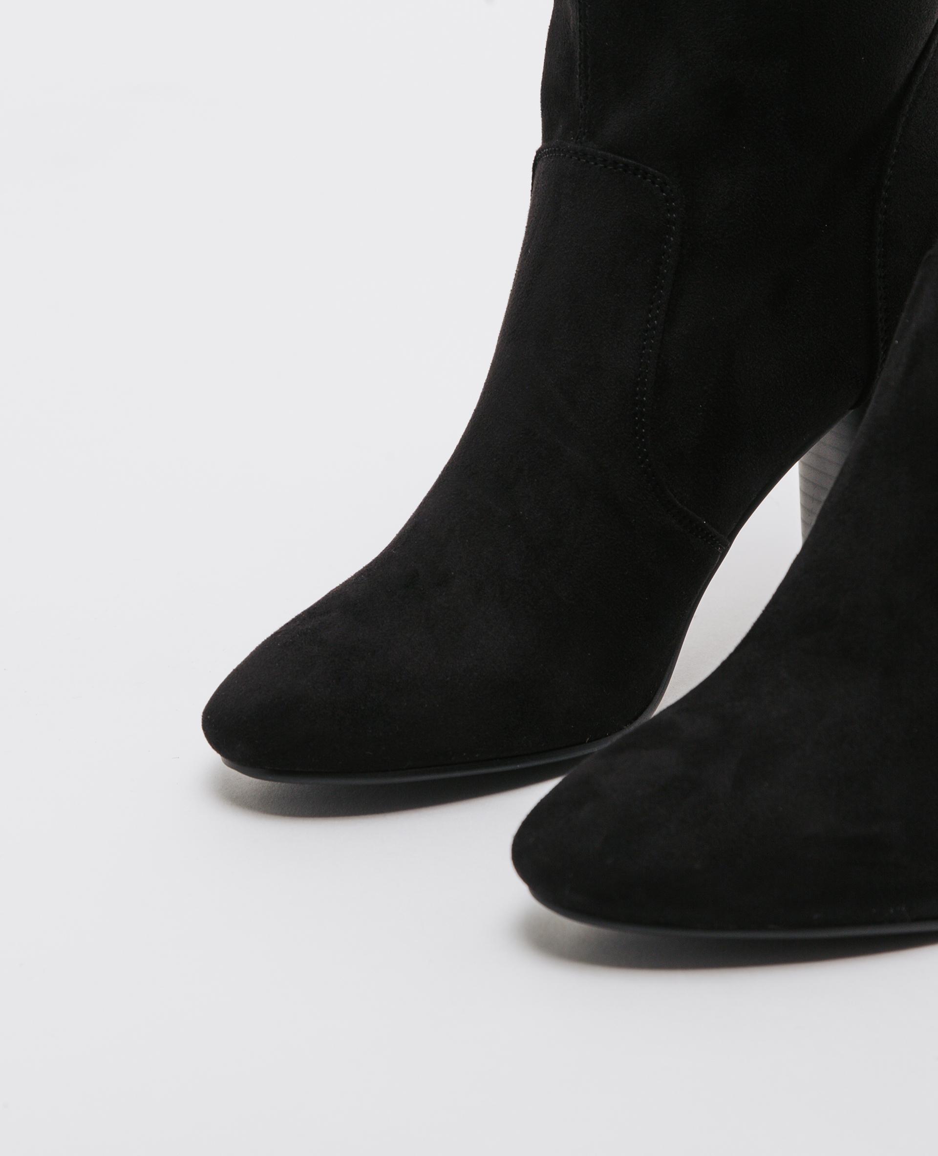 Boots talons hauts noir - Pimkie