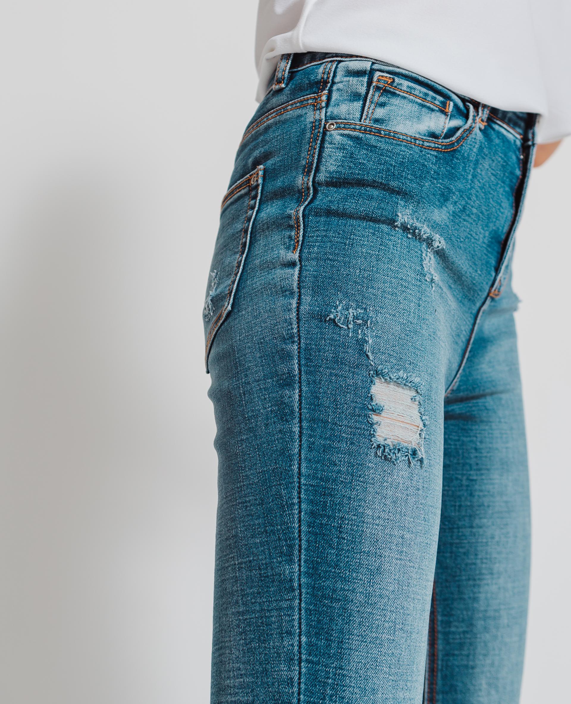 Jean skinny taille haute bleu - Pimkie
