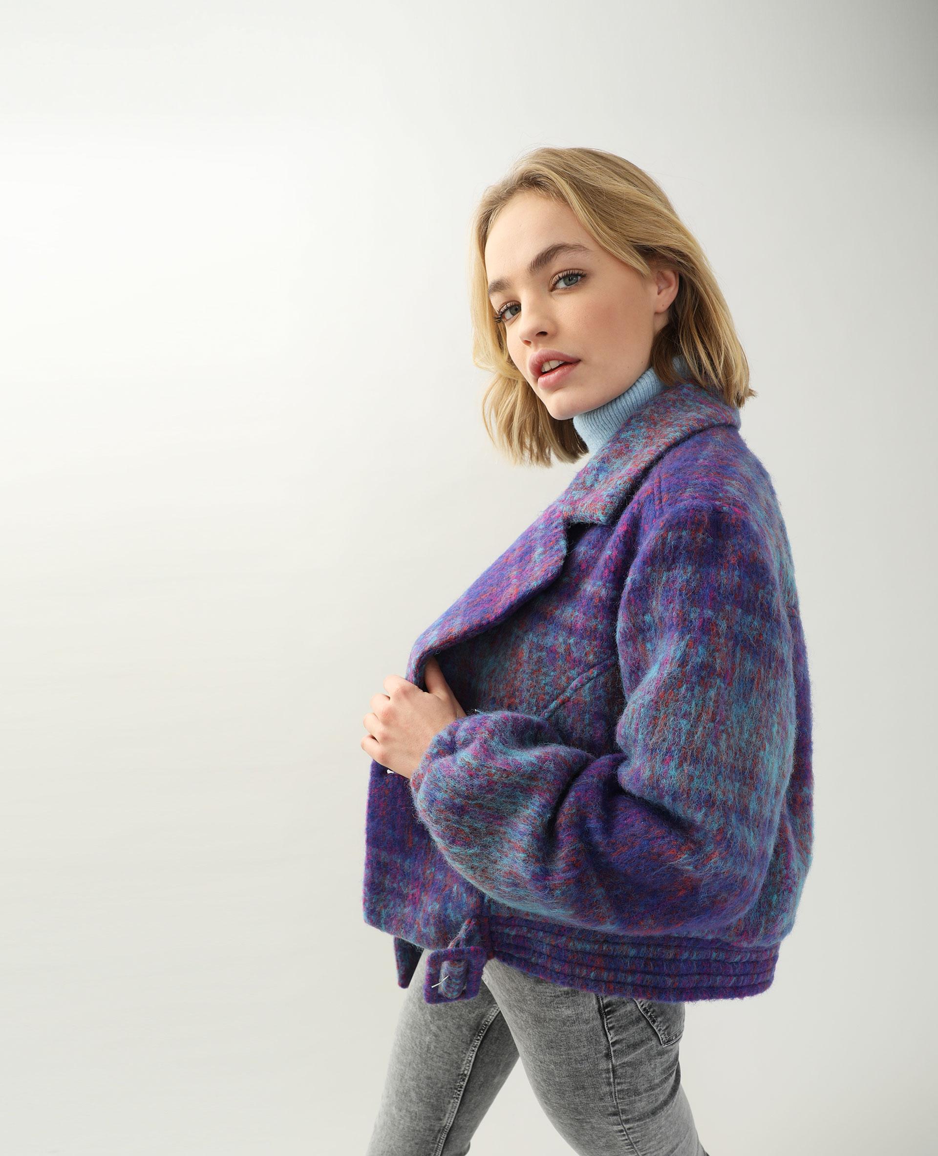 Veste courte violet - Pimkie