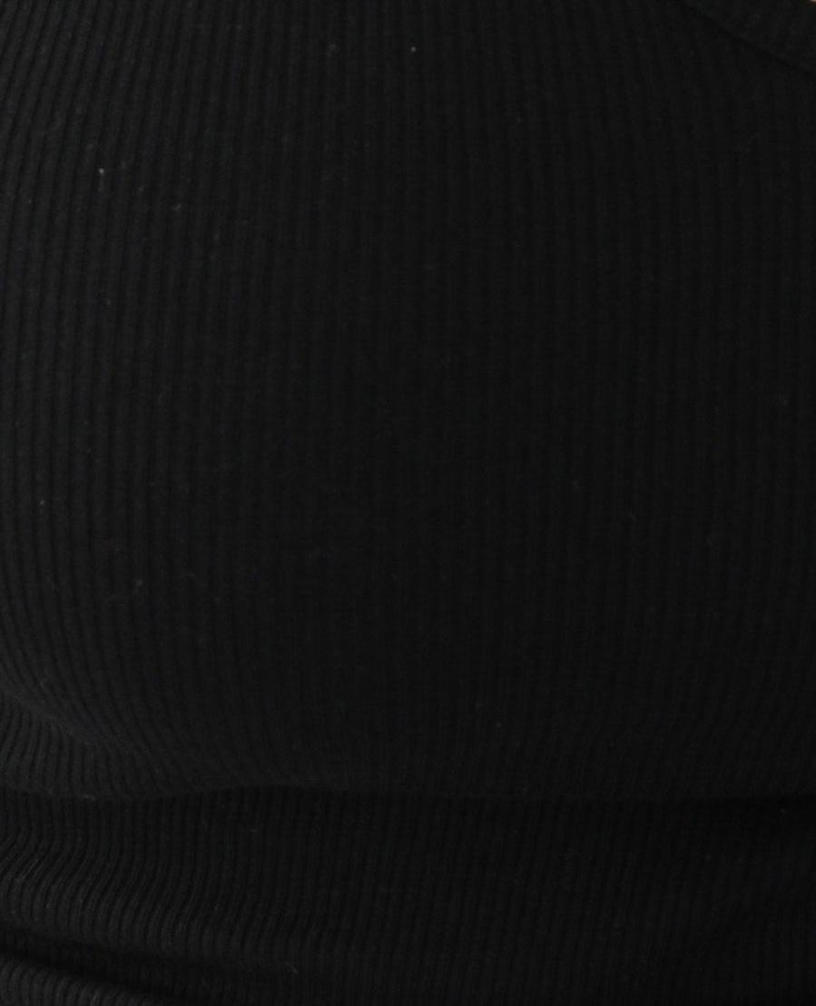 Débardeur côtelé noir - Pimkie