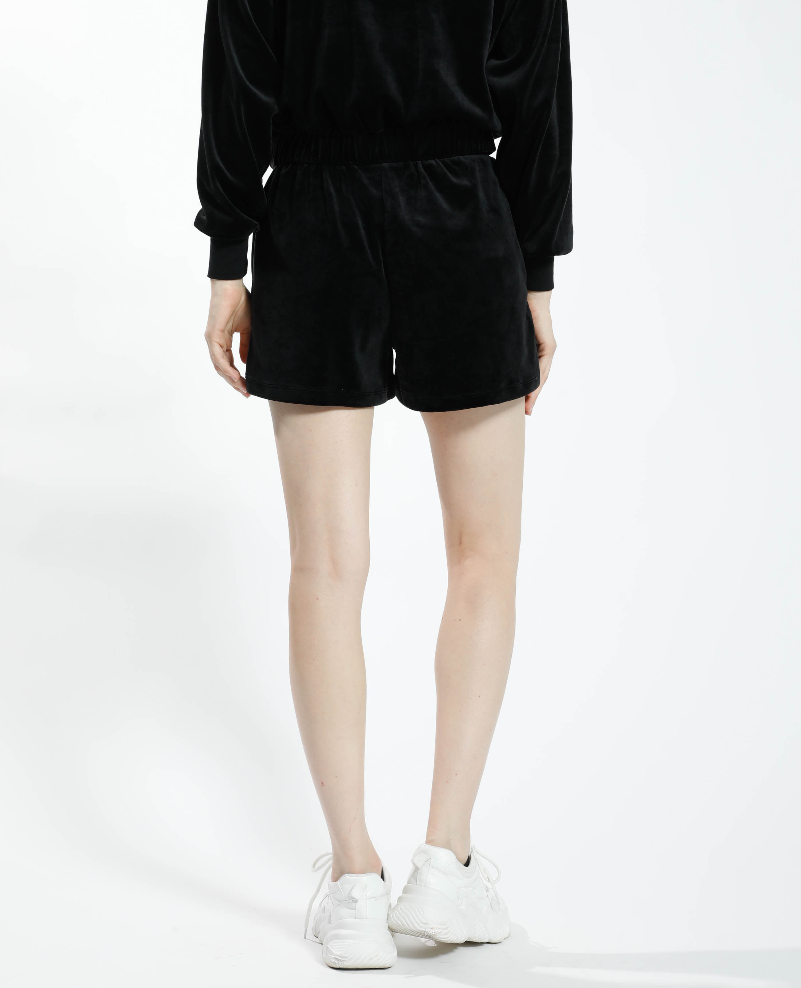 Short en velours noir - Pimkie