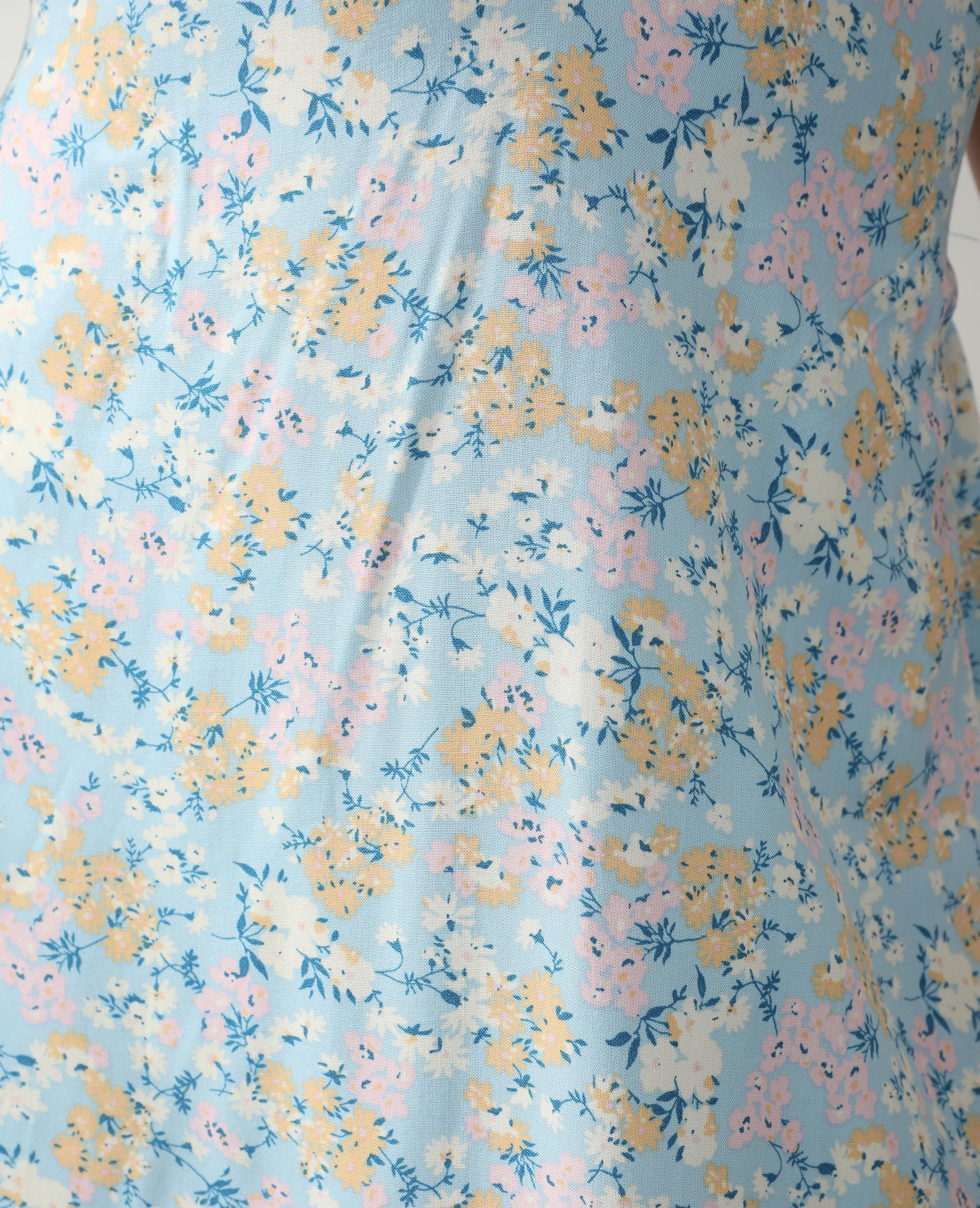 Robe longue bleu clair - Pimkie