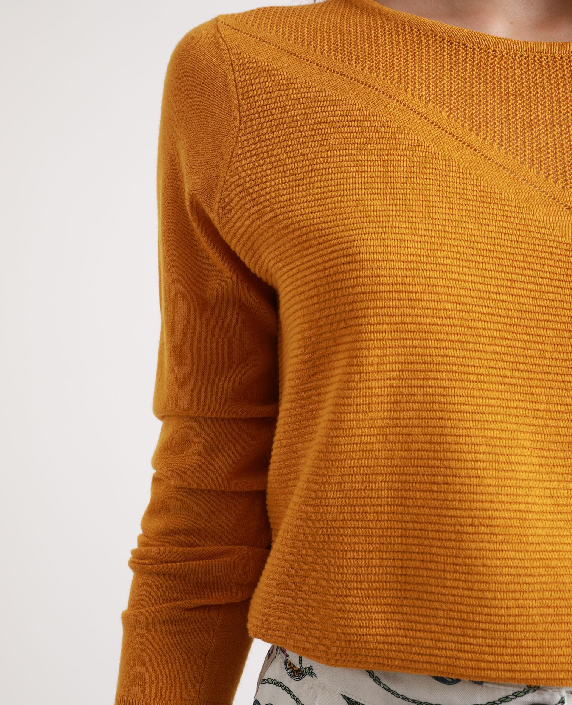 Pull léger jaune - Pimkie