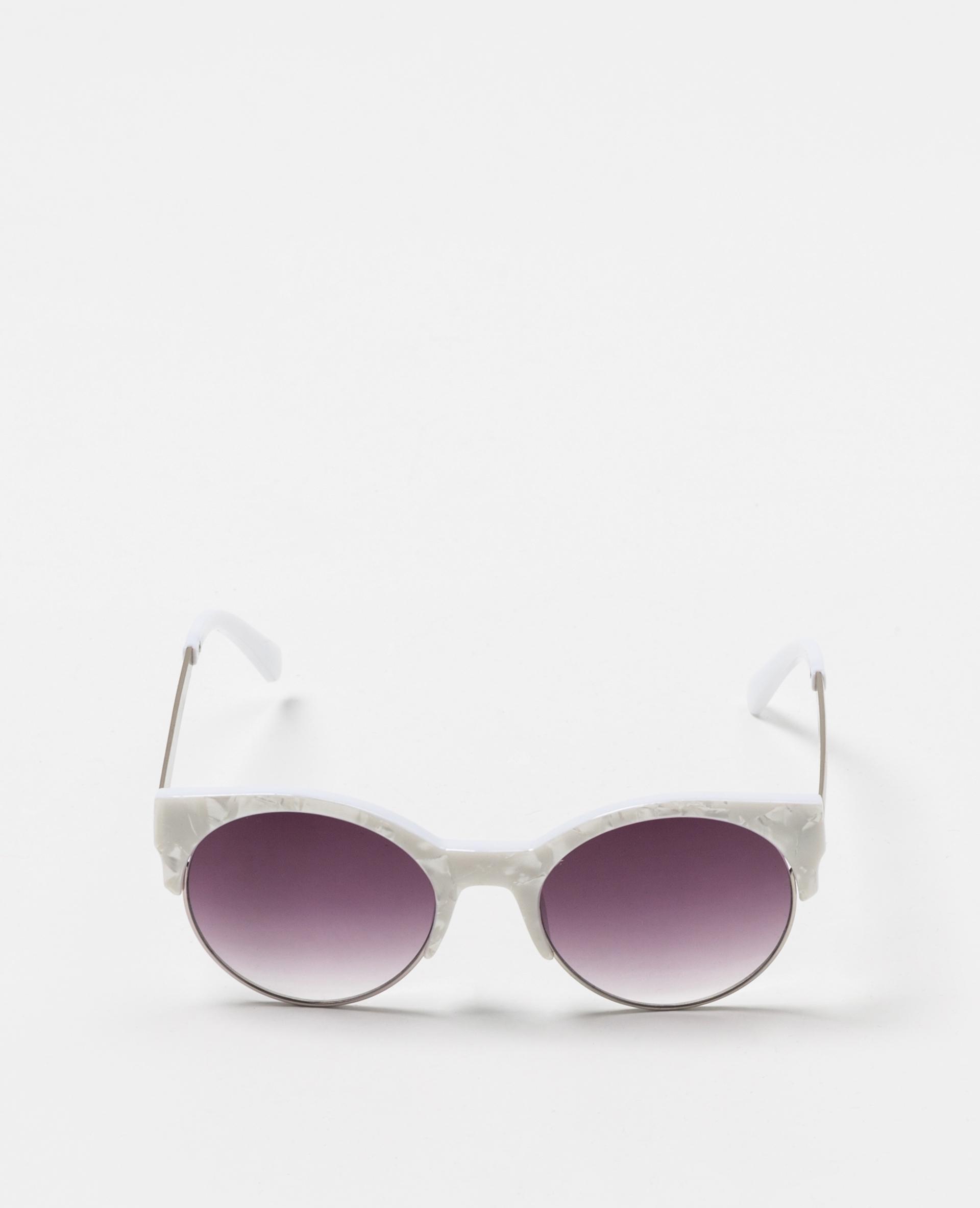 Lunettes de soleil yeux de chat noir - Pimkie