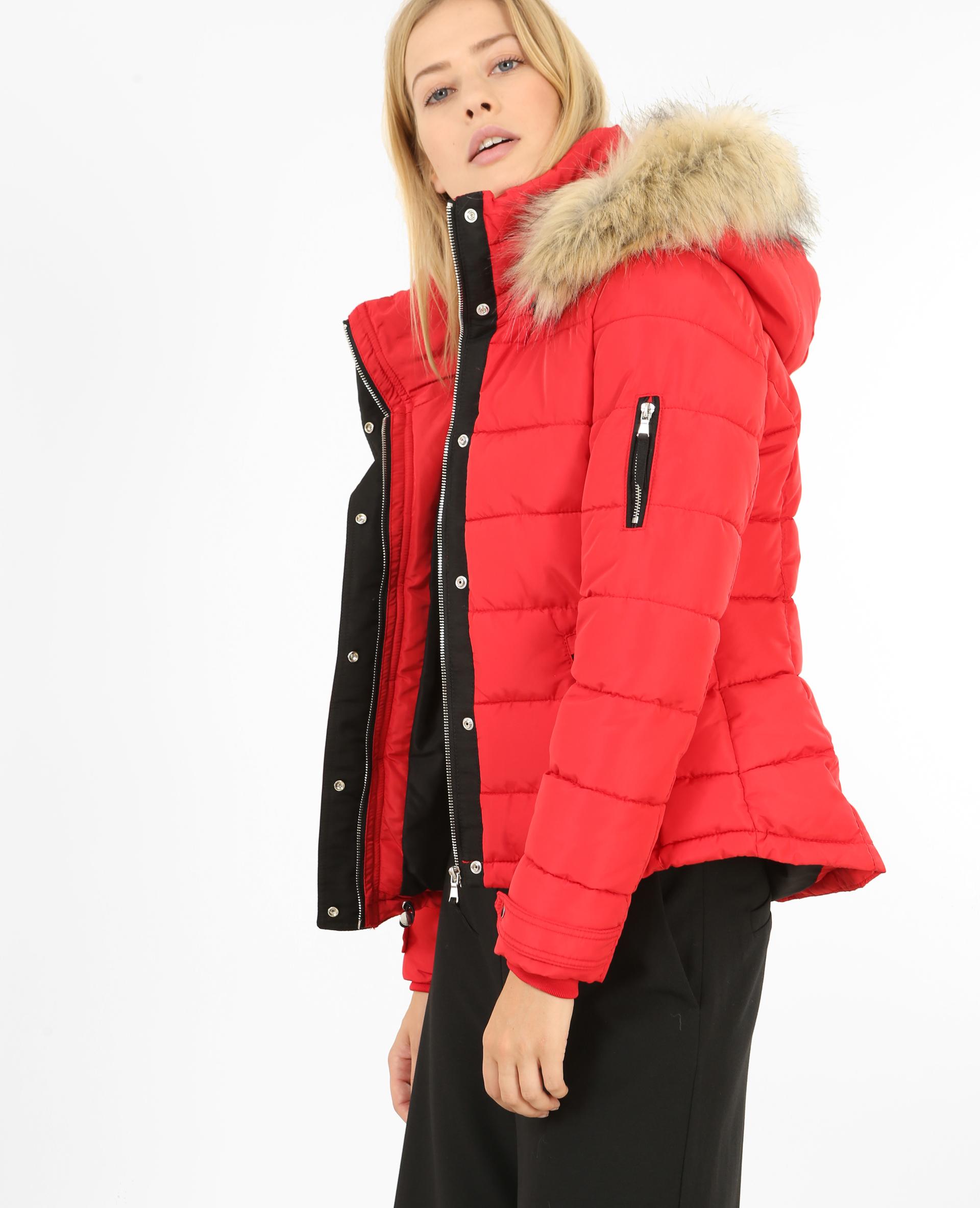canada goose femme courte rouge