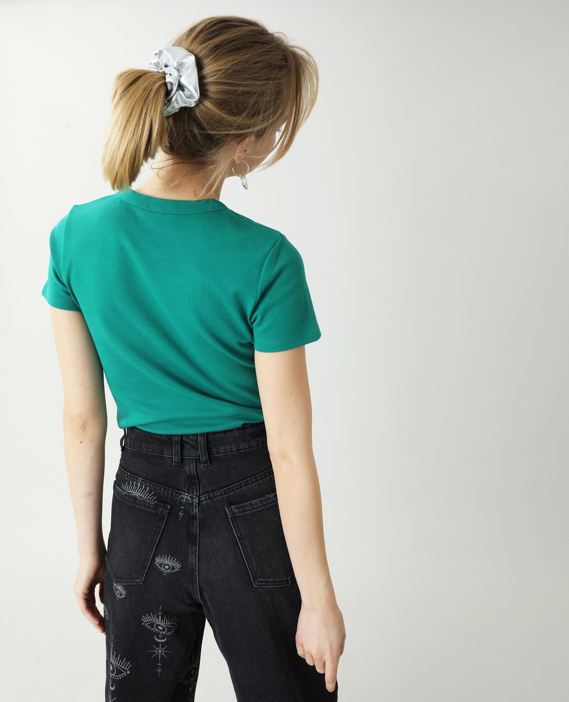 T-shirt basique vert - Pimkie