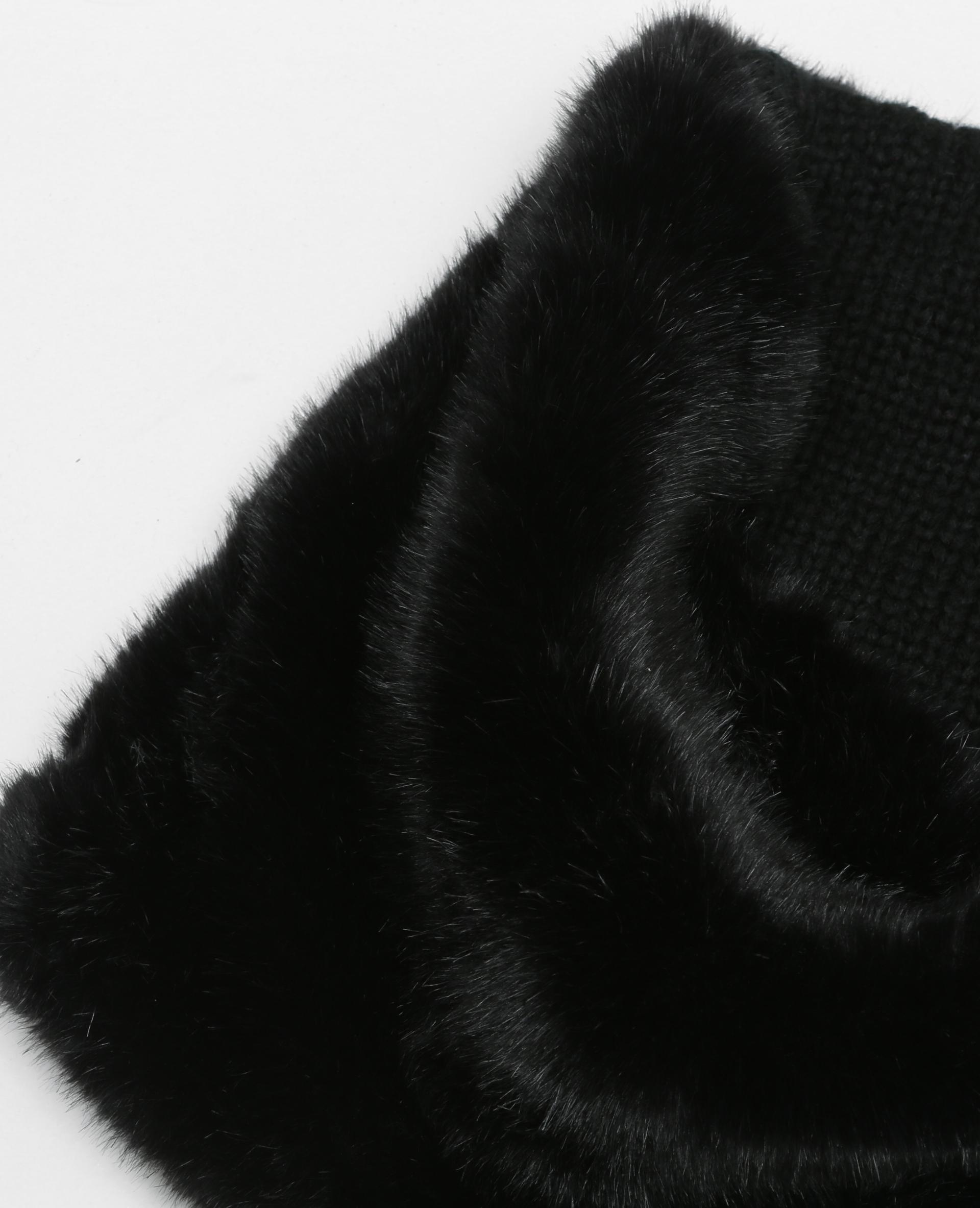 7c97a1e950a4 Snood fausse fourrure noir - 916054899A08   Pimkie