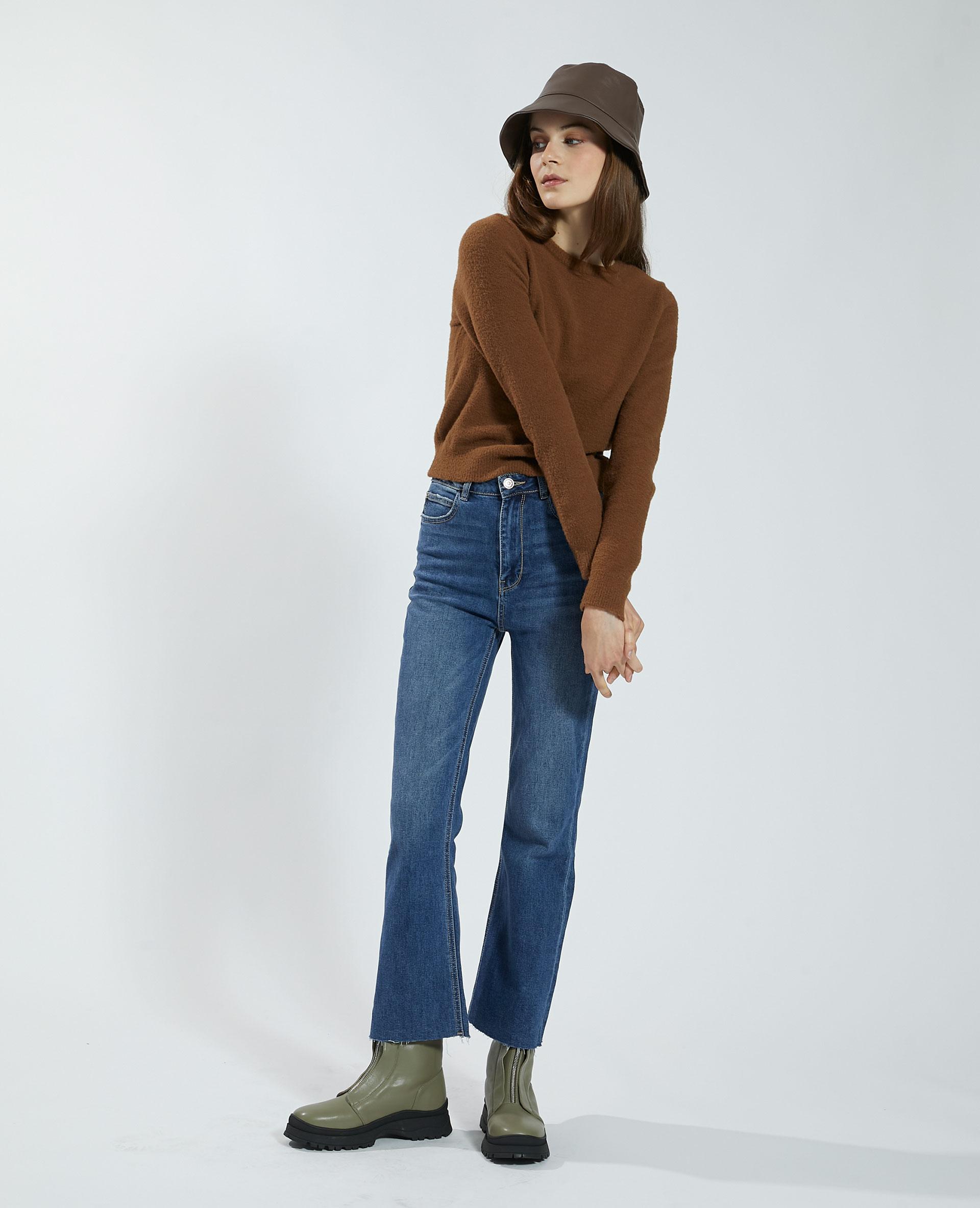 Pull doux marron - Pimkie