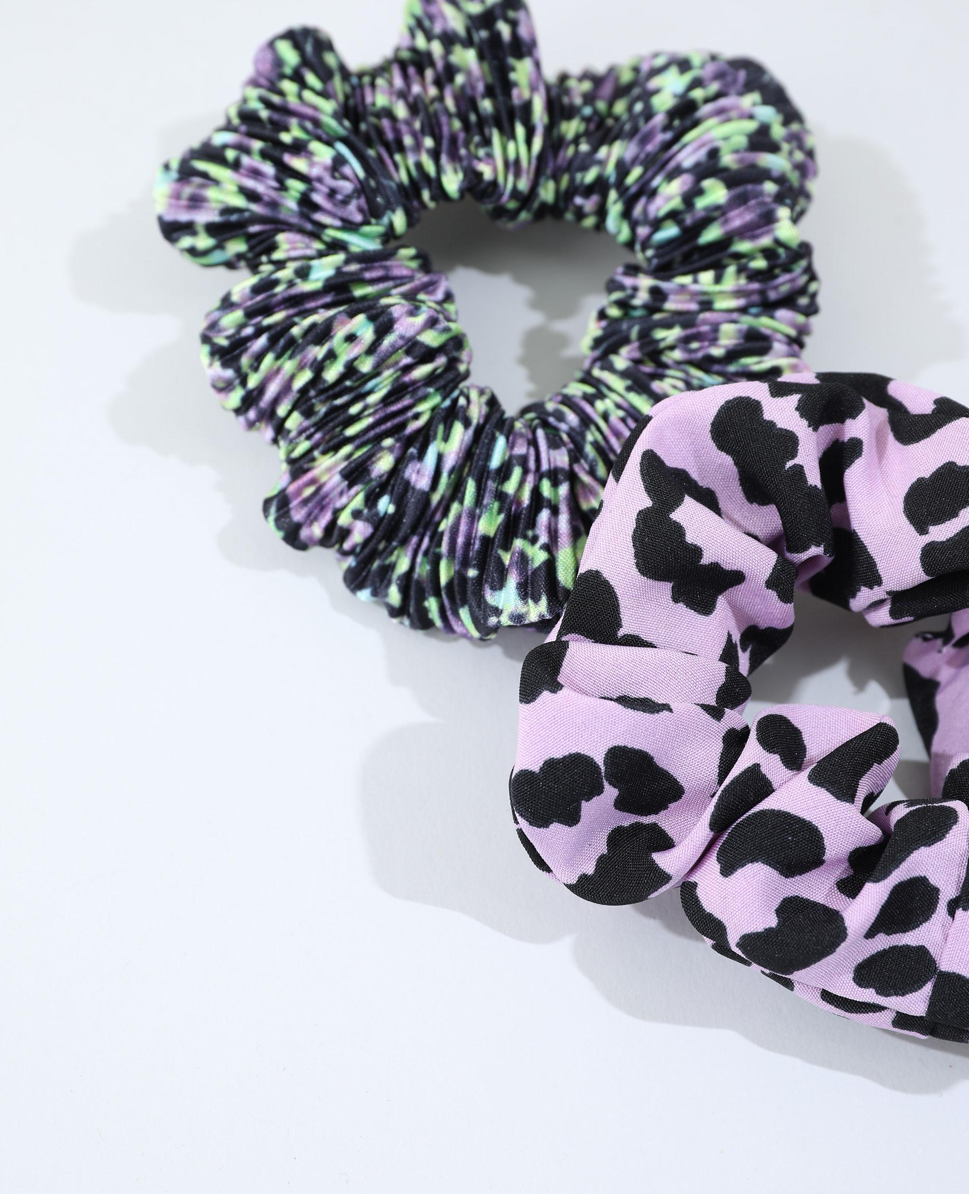 Lot de 2 chouchous violet - Pimkie