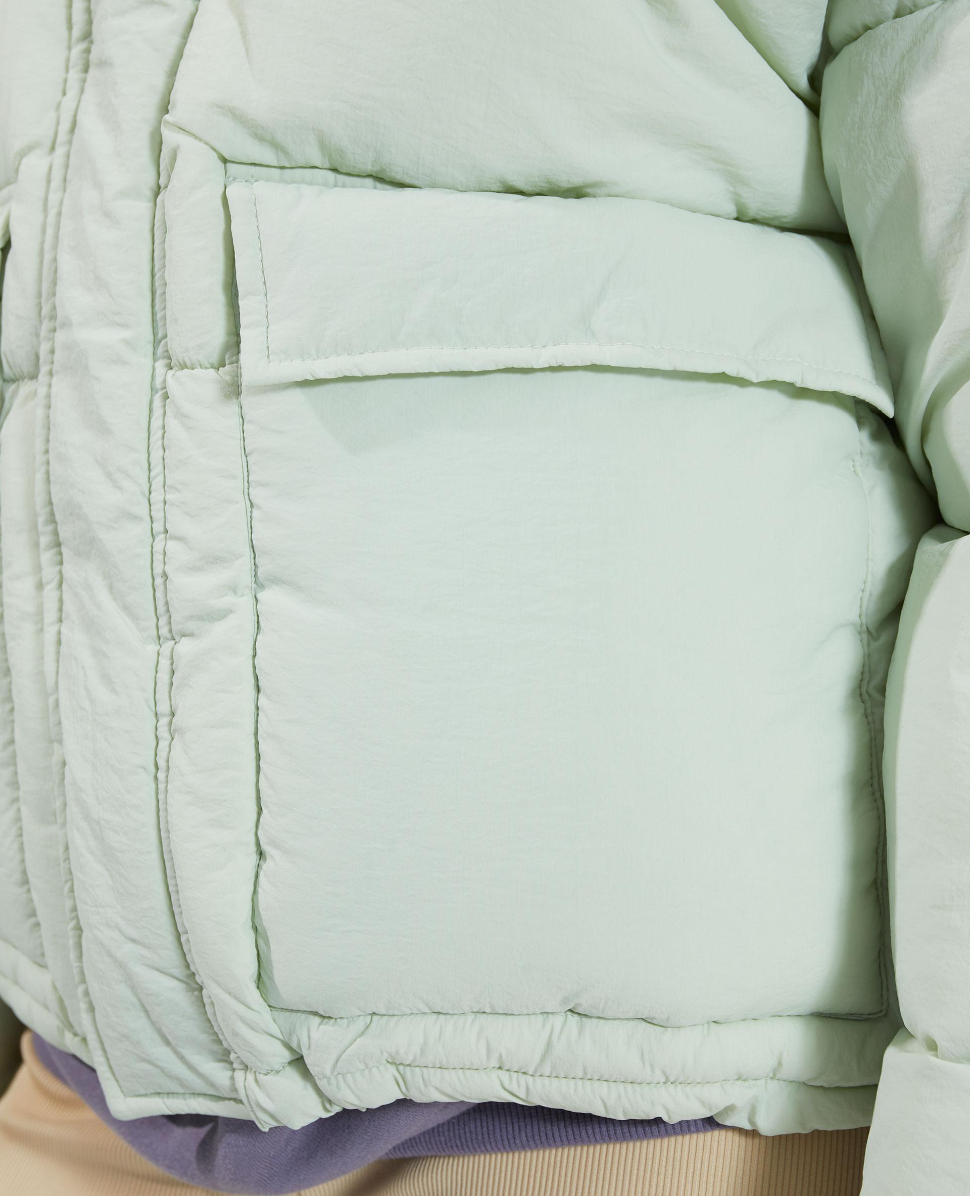 Doudoune à capuche déperlante vert - Pimkie