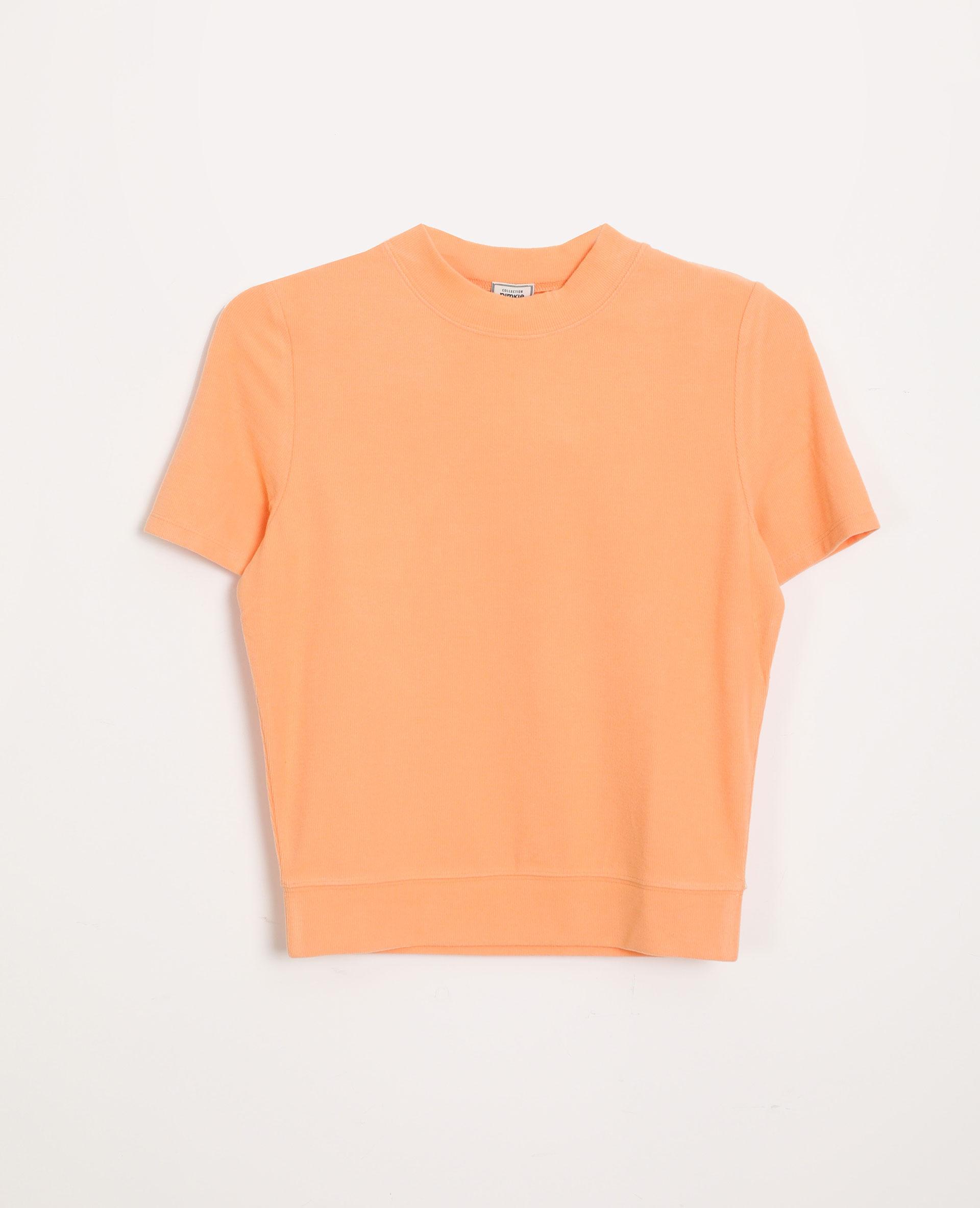 T-shirt doux orange - Pimkie