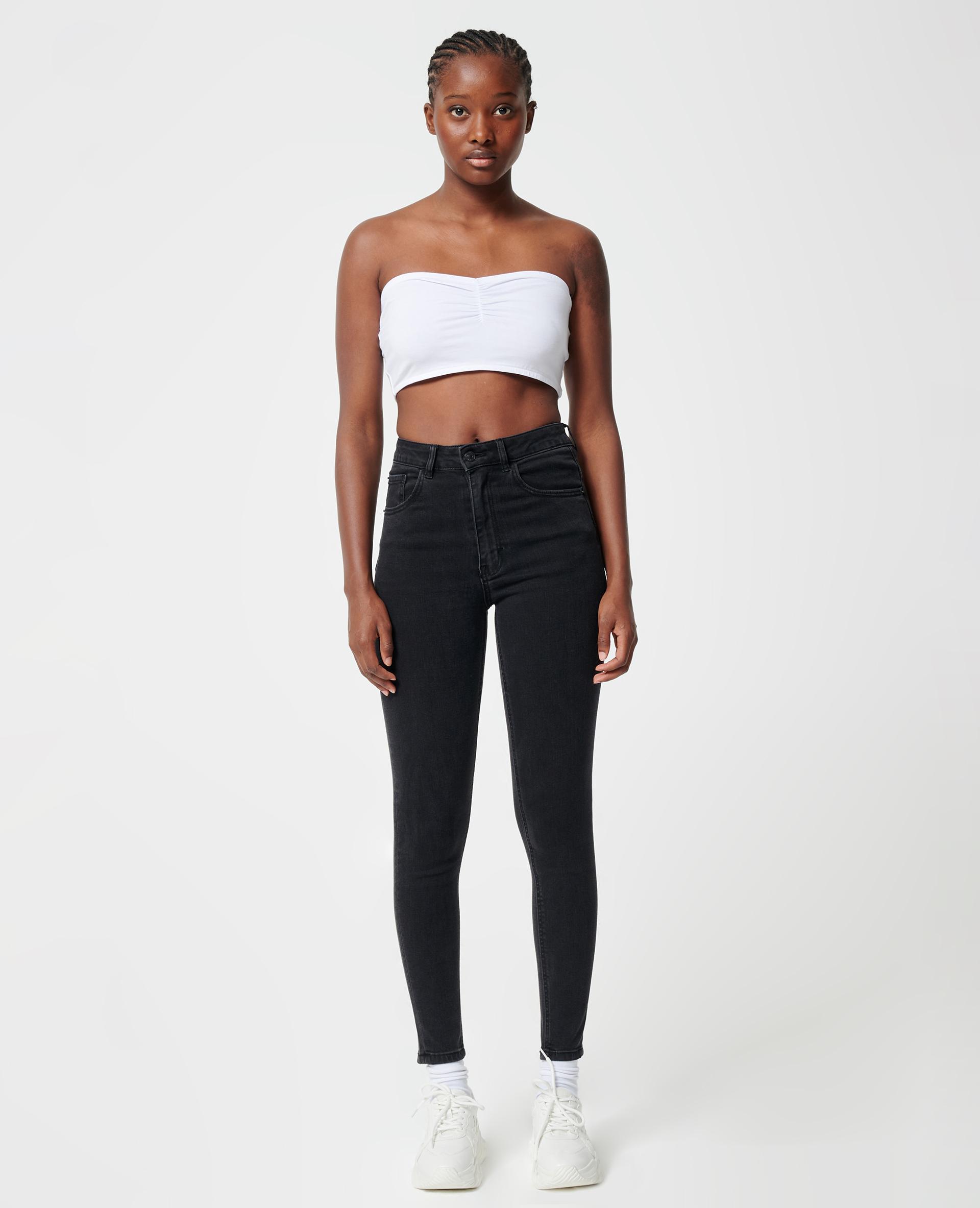 Jean skinny push up noir - Pimkie