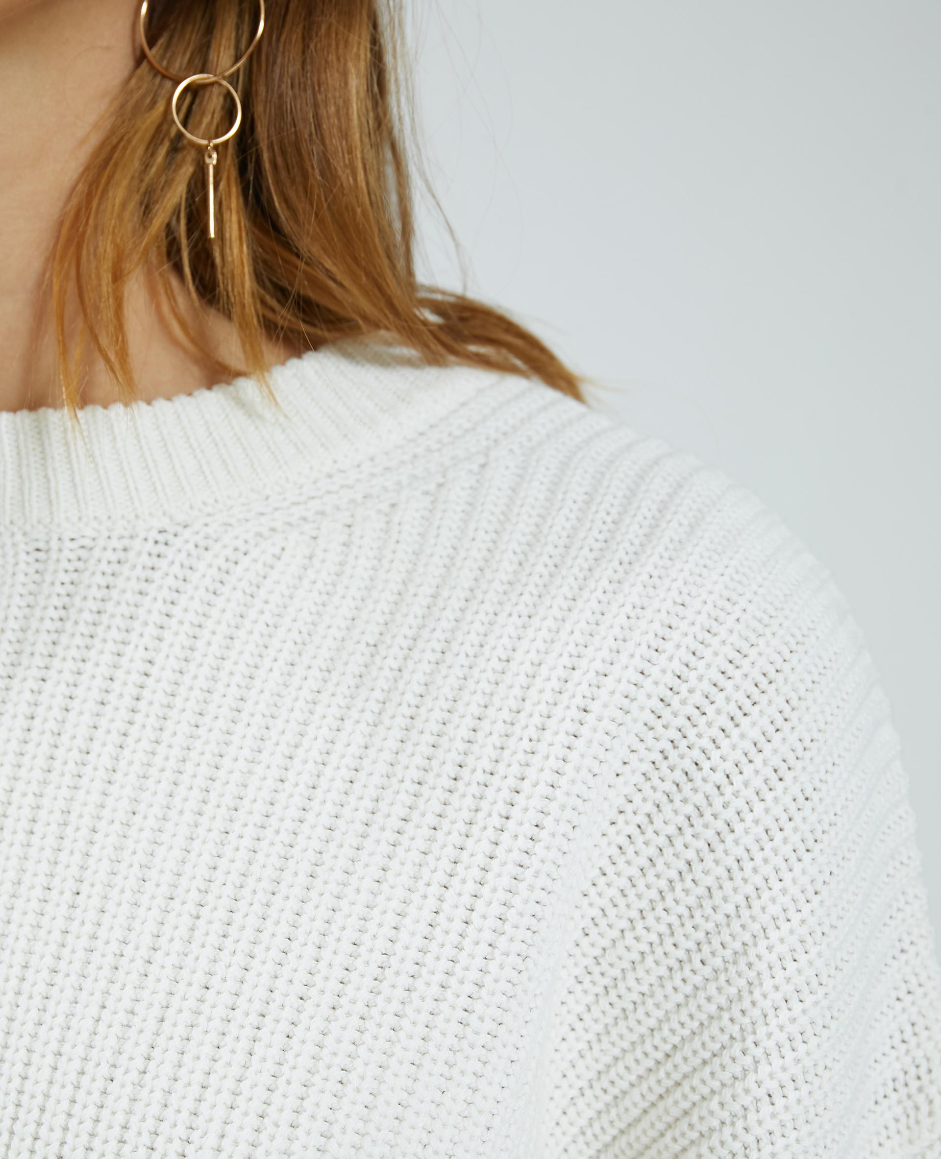 Pull maille blanc - Pimkie