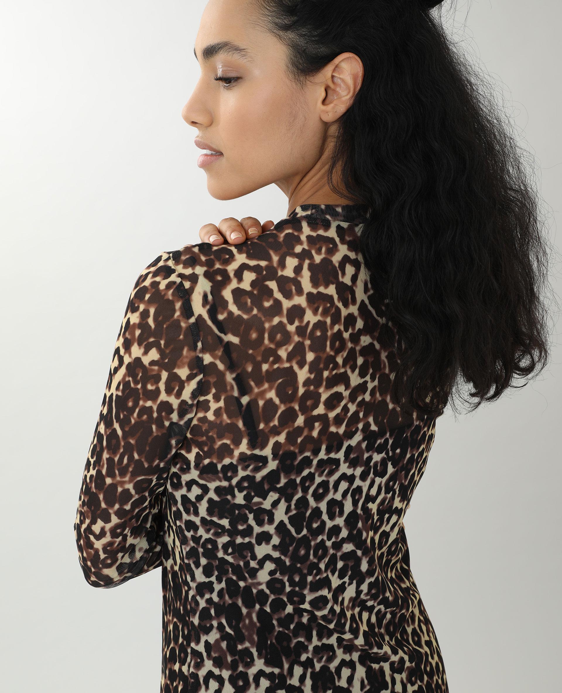 Robe transparente marron - Pimkie