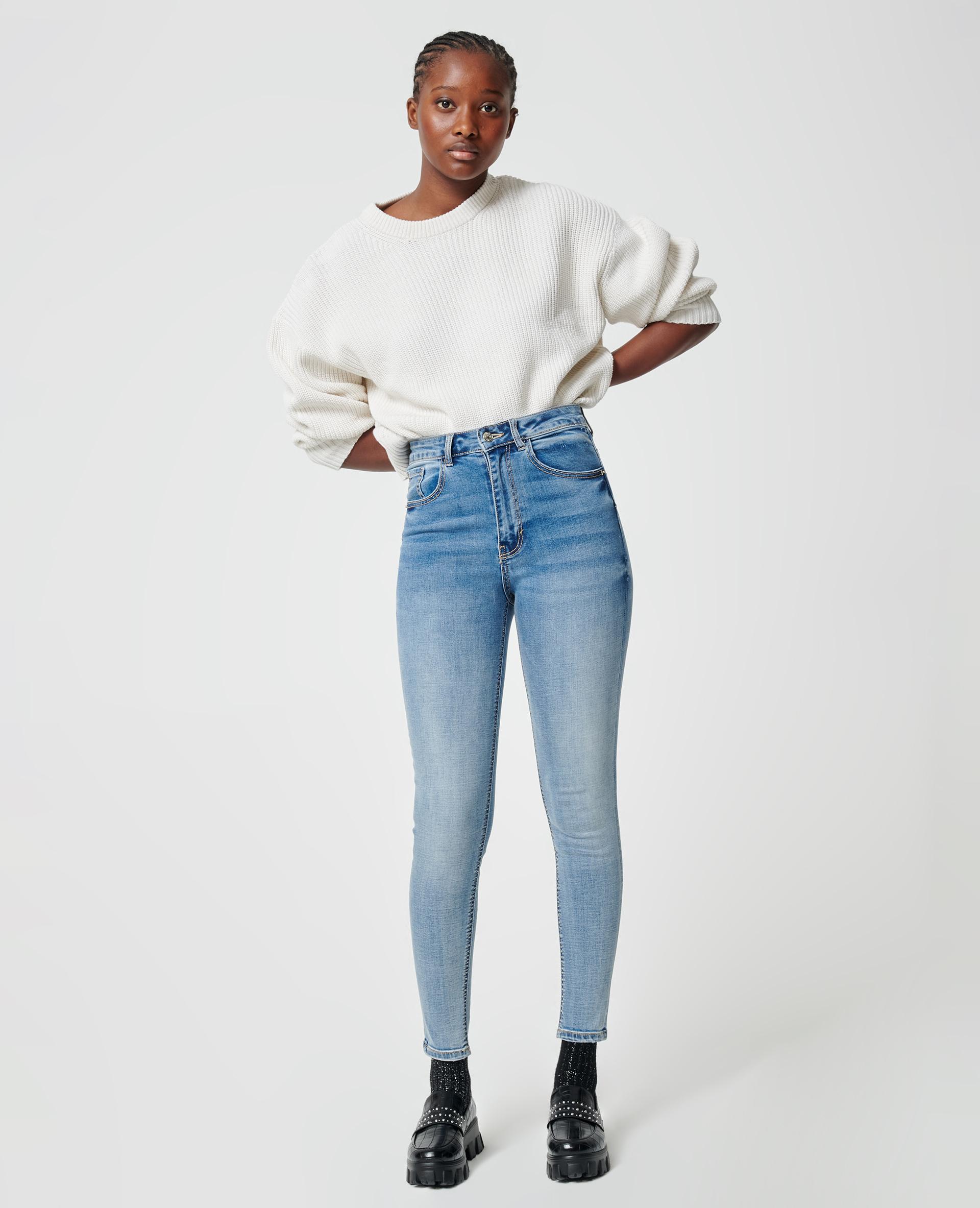 Jean skinny push up bleu denim - Pimkie
