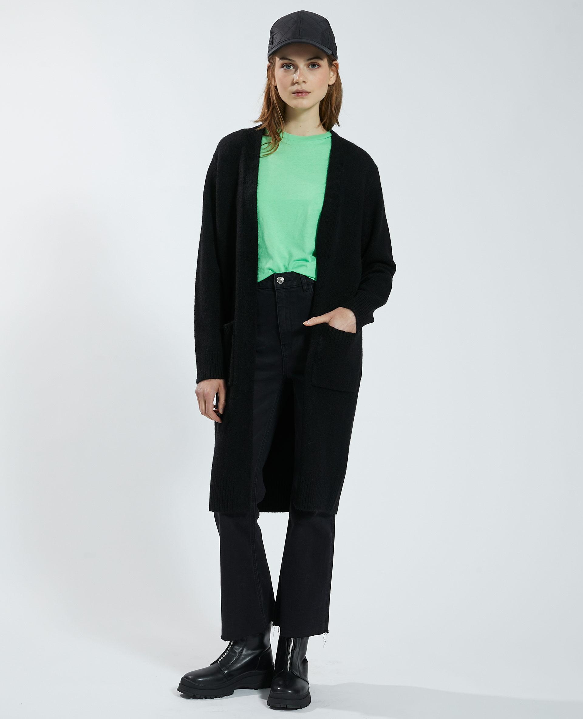 Gilet long noir - Pimkie