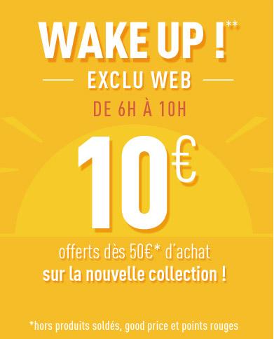 WAKE UP**