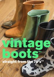 Vintage boots**