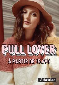PULL LOVER À partir de 15,99€