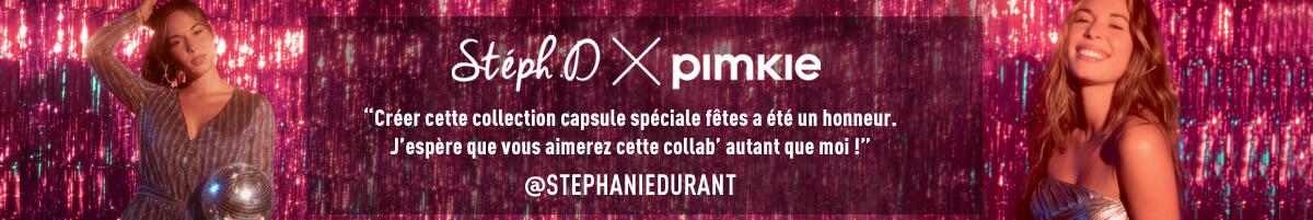 Stéphanie Durant x Pimkie