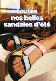 toutes nos sandales d'été